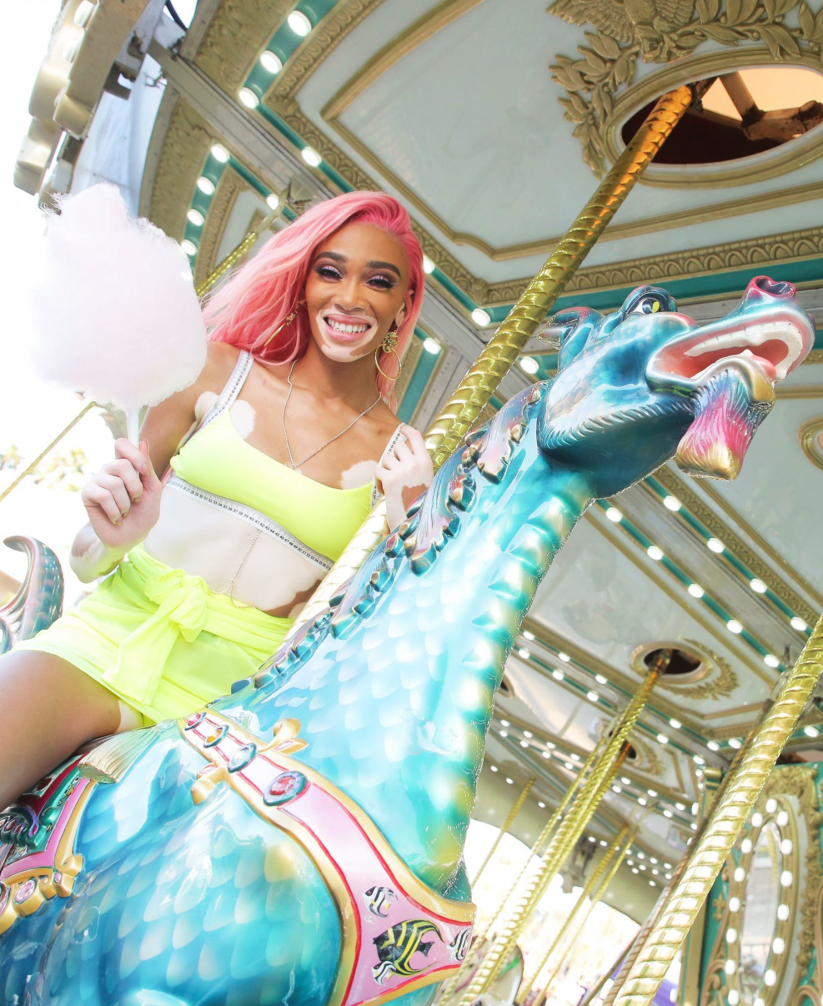 Winnie Harlow Revolve Party, Coachella Valley Music and Arts Festival