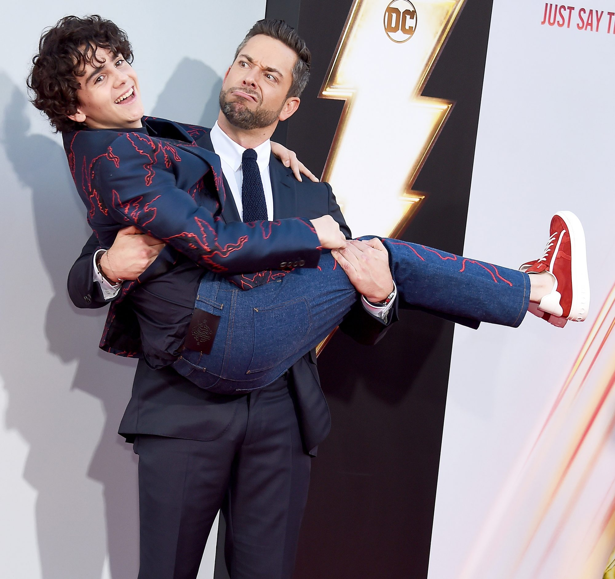 """Warner Bros. Pictures And New Line Cinema's World Premiere Of """"SHAZAM!"""" - Arrivals"""
