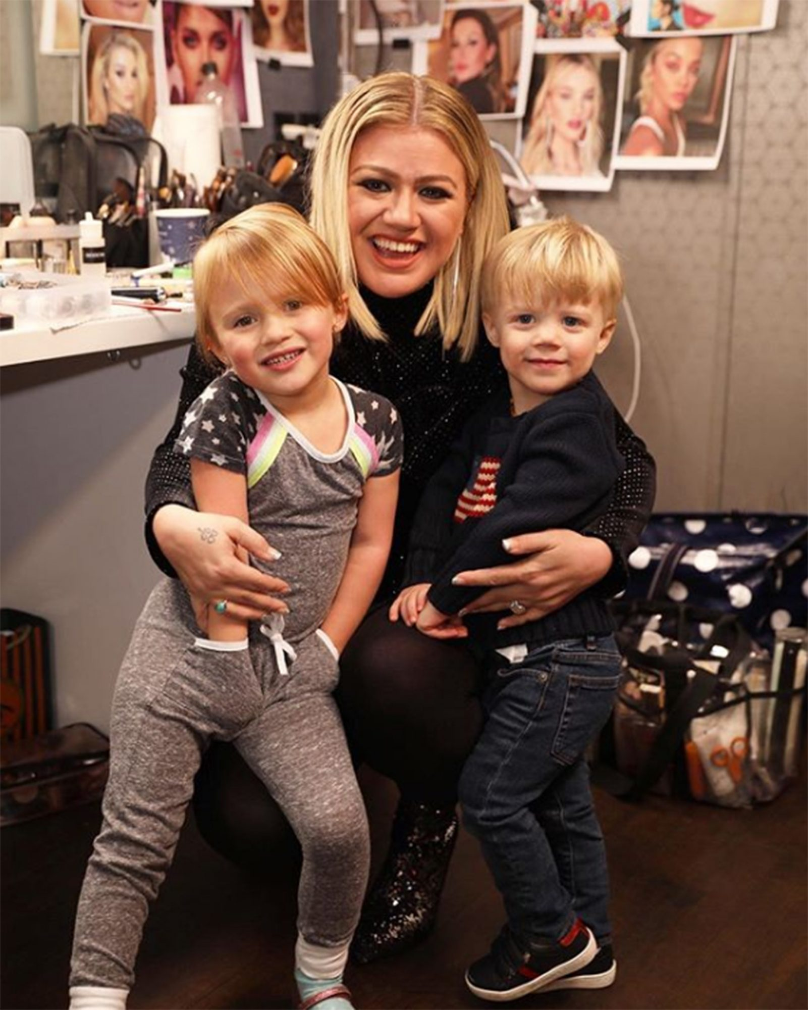 Kelly Clarkson family