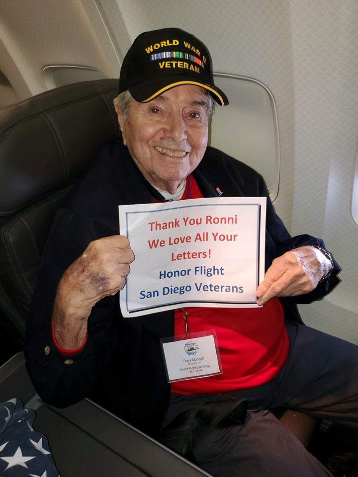 Mr. Frank Manchel was 95 years old and a U.S. Army WWII veteran