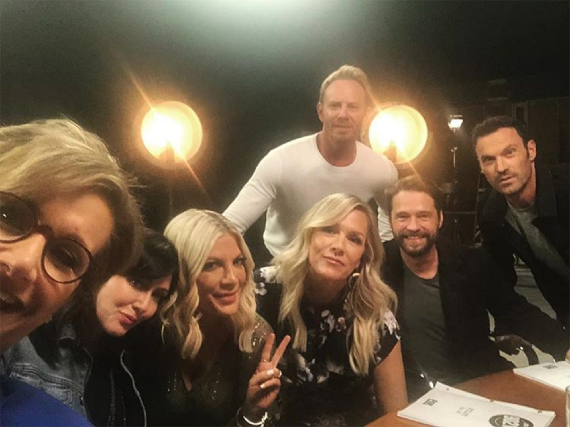 90210 Cast Reunites for Table Read