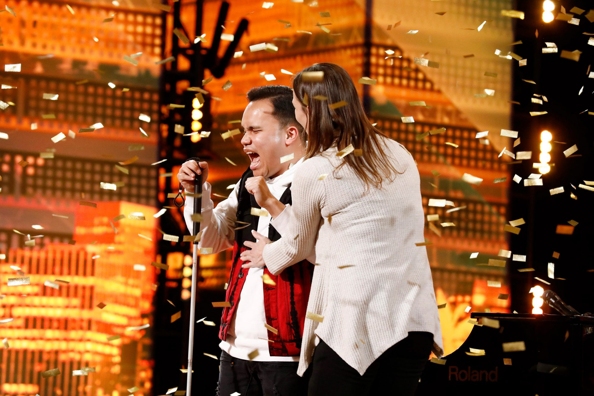 """AMERICA'S GOT TALENT -- """"Auditions 1"""" Episode 1401 -- Pictured: Kodi Lee"""