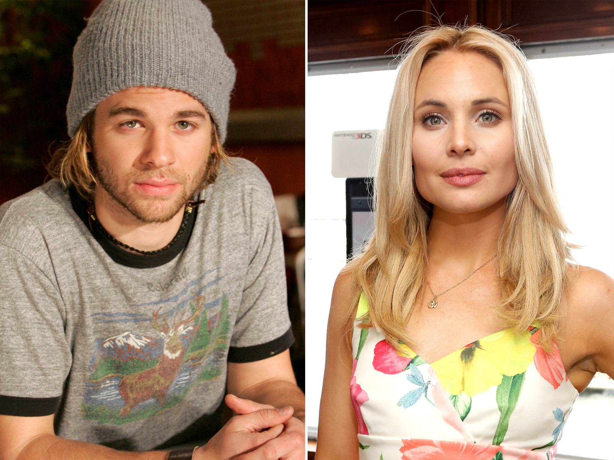 A.J. Trauth and Leah Pipes