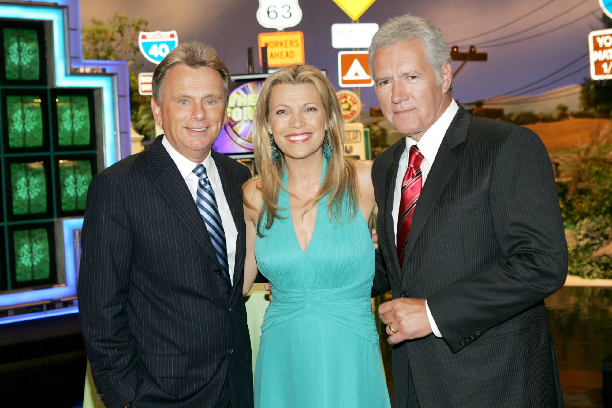 """Wheel of Fortune"" and ""Jeopardy!"" Celebrate the Switch to Sony HD with Alex Trebek, Vanna White and Pat Sajak"