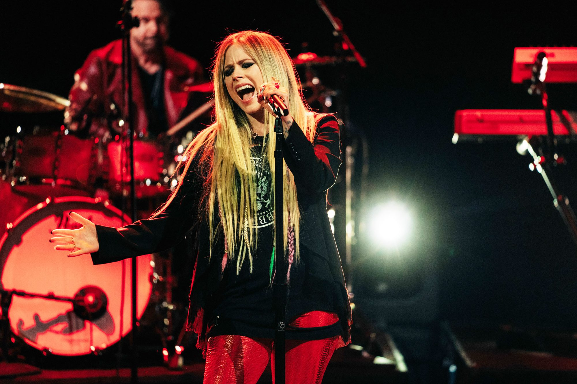 Avril Lavigne The Late Late Show with James Corden