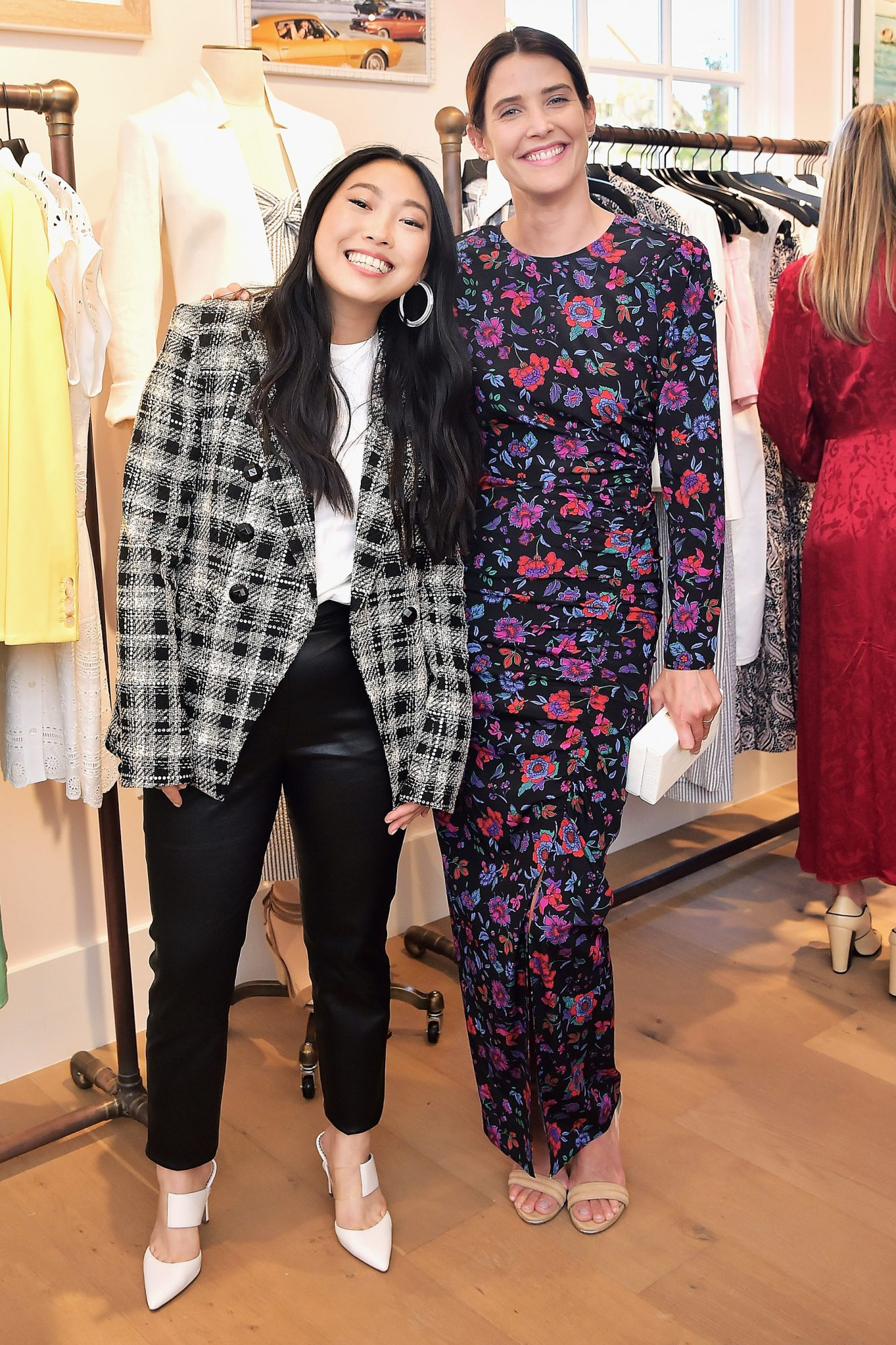 Awkwafina and Cobie Smulders