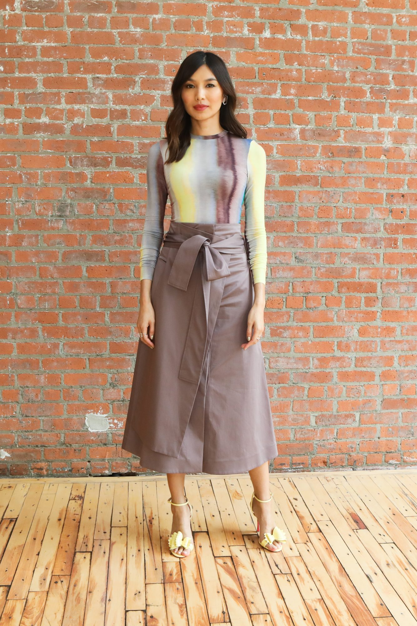 Gemma Chan at Beacon event/COS