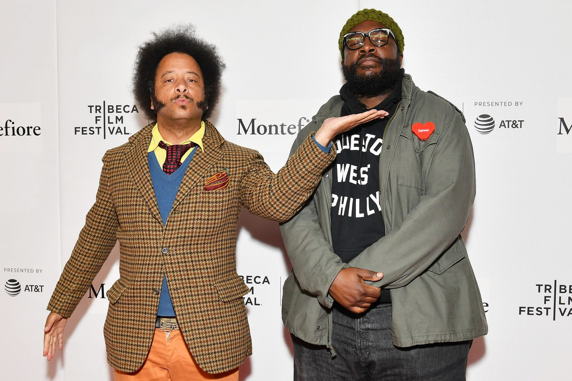 Boots Riley and Questlove