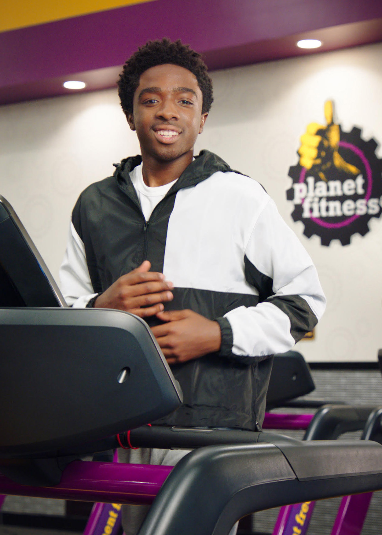 Caleb McLaughlin Planet Fitness