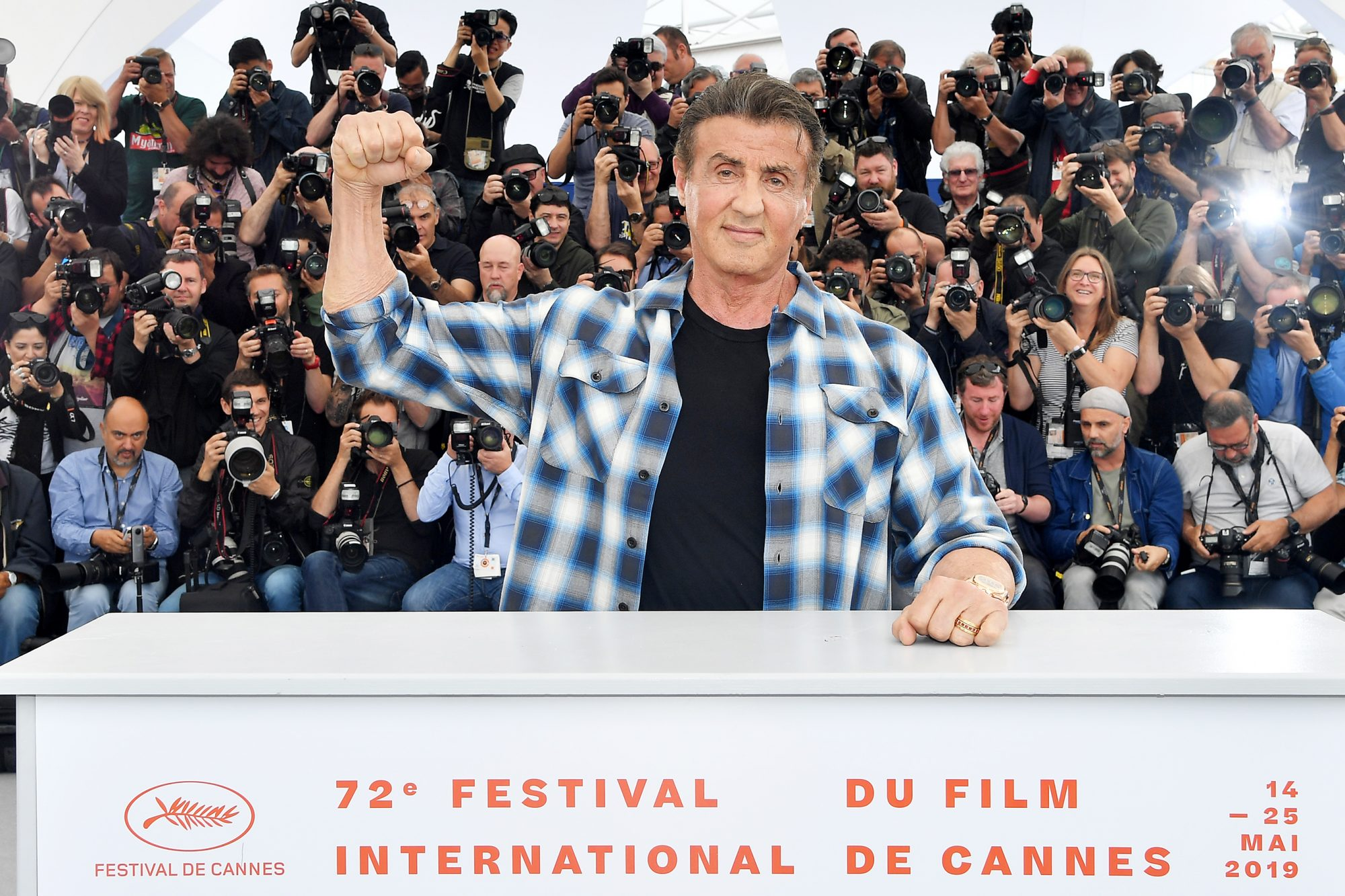 Sylvester Stallone Cannes