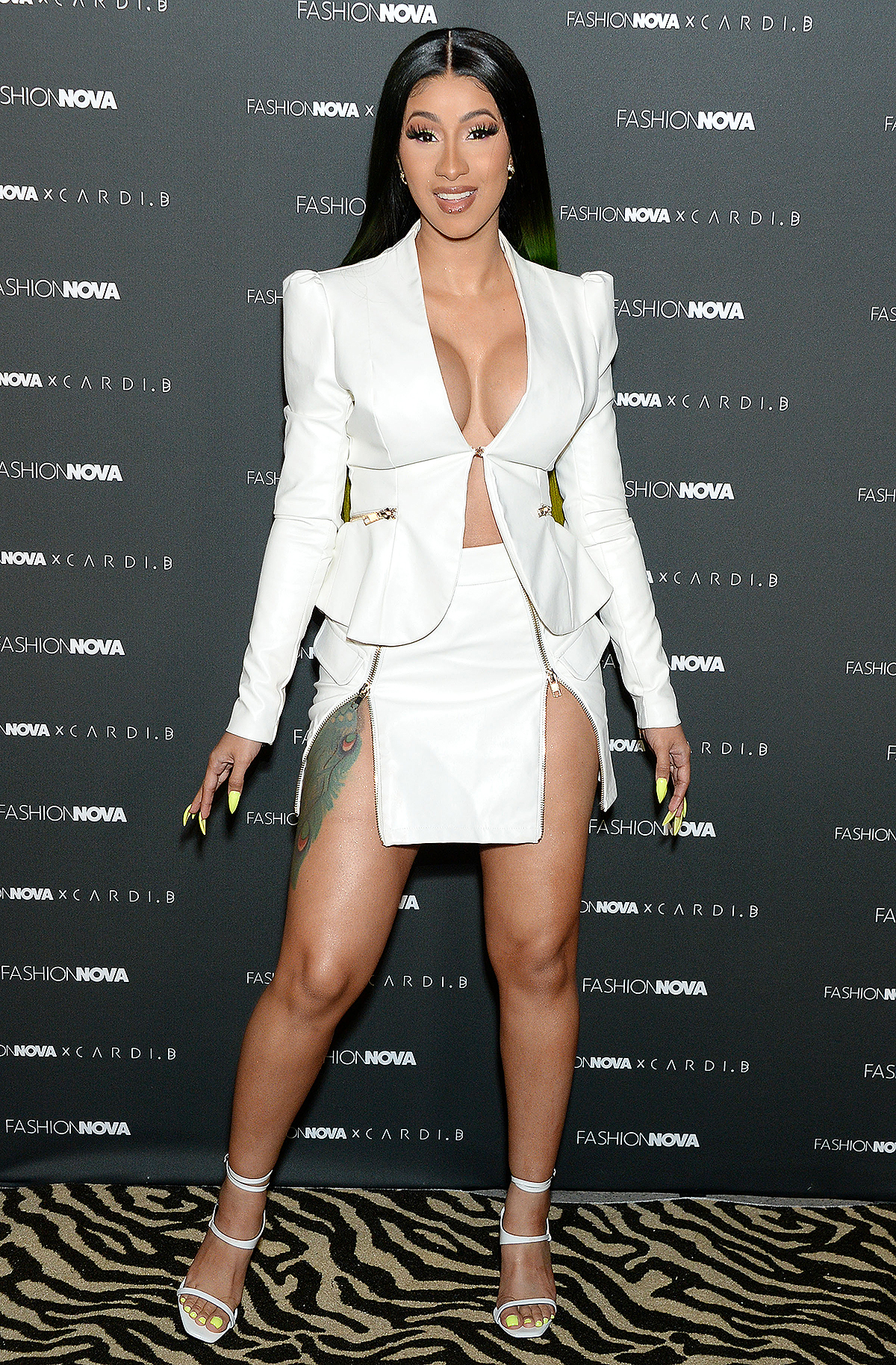 Fashion Nova x Cardi B Collection Launch Event, Arrivals, Los Angeles, USA - 08 May 2019