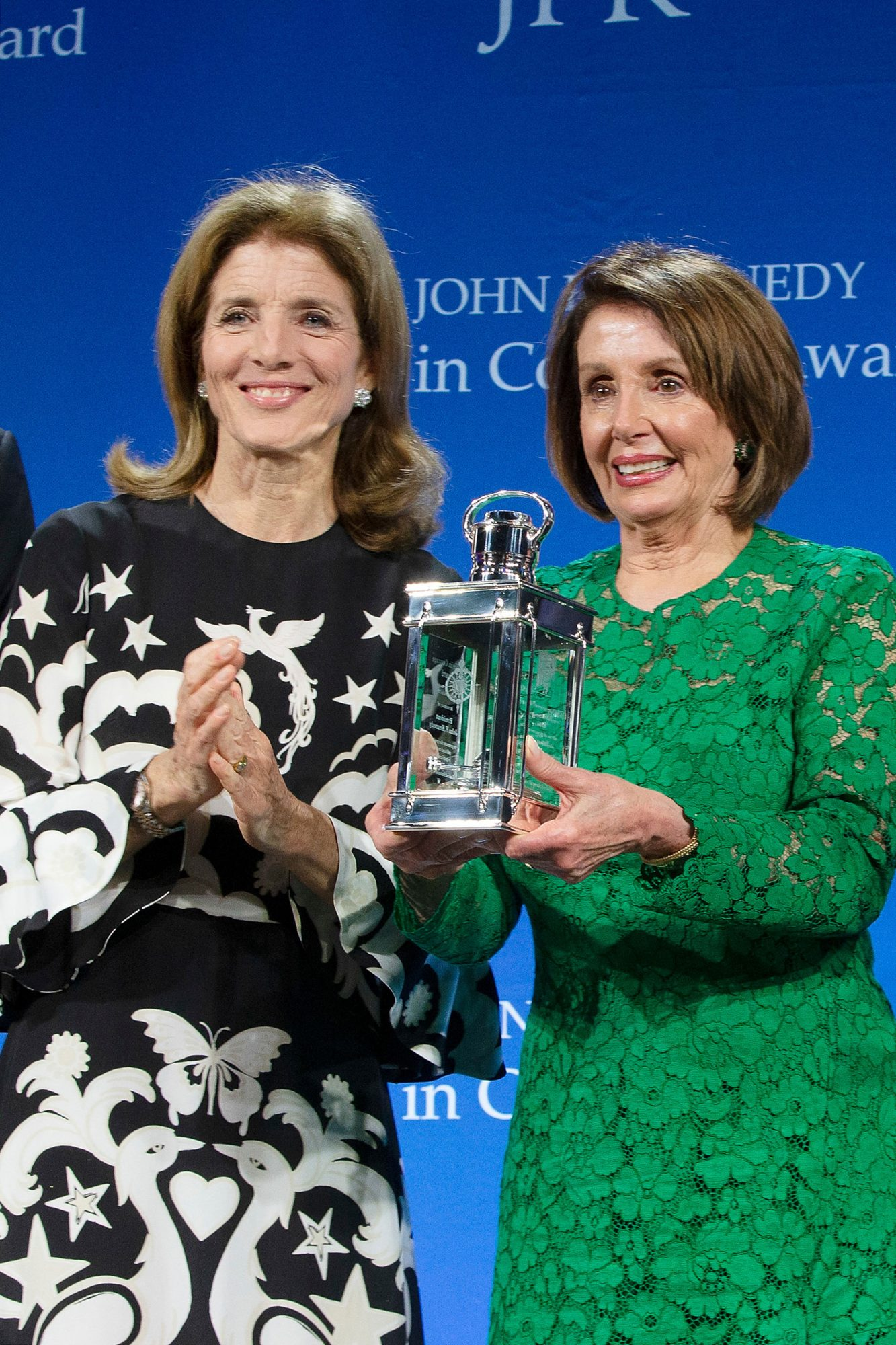CAROLINE KENNEDY & NANCY PELOSI