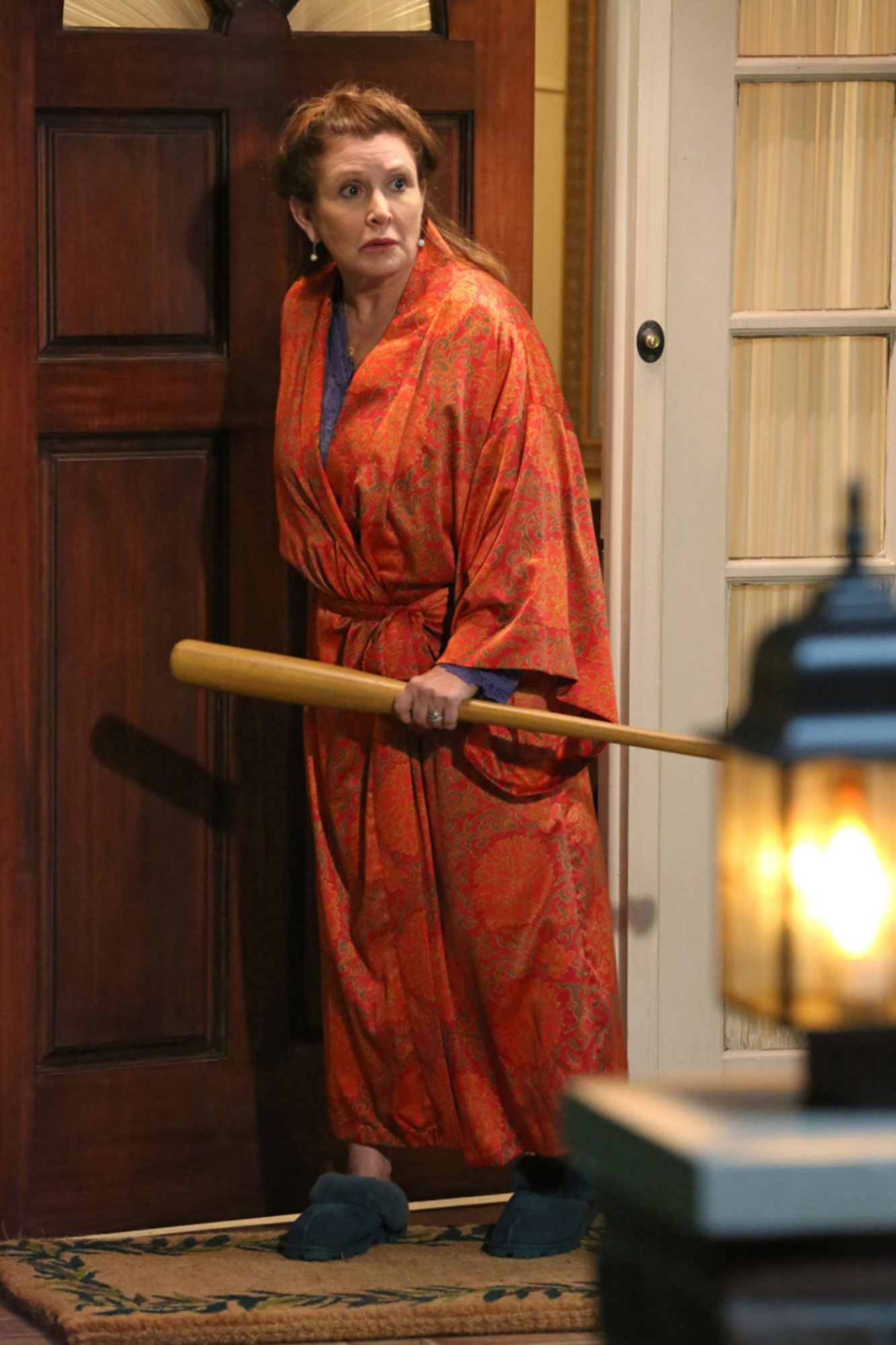 THE BIG BANG THEORY CARRIE FISHER
