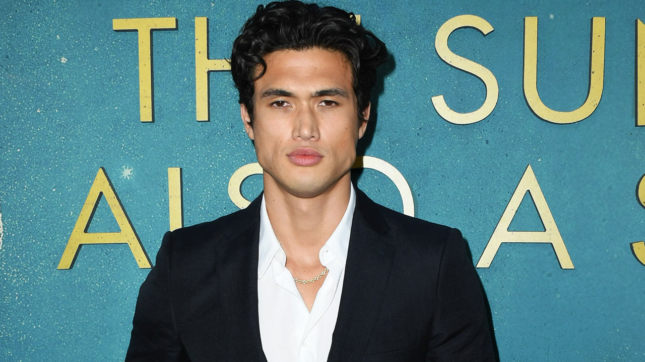 Actor Charles Melton