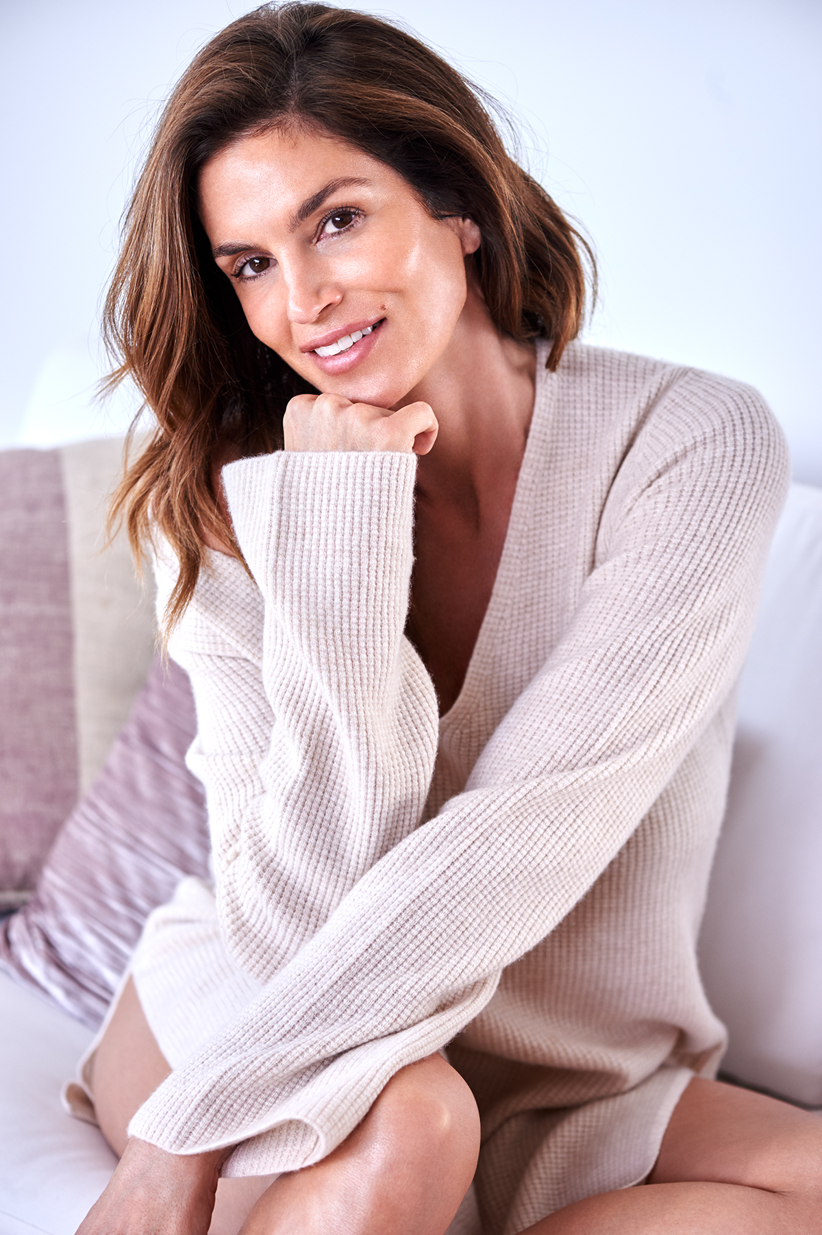 Cindy Crawford; Courtesy of Meaningful Beauty by Stewart Shining