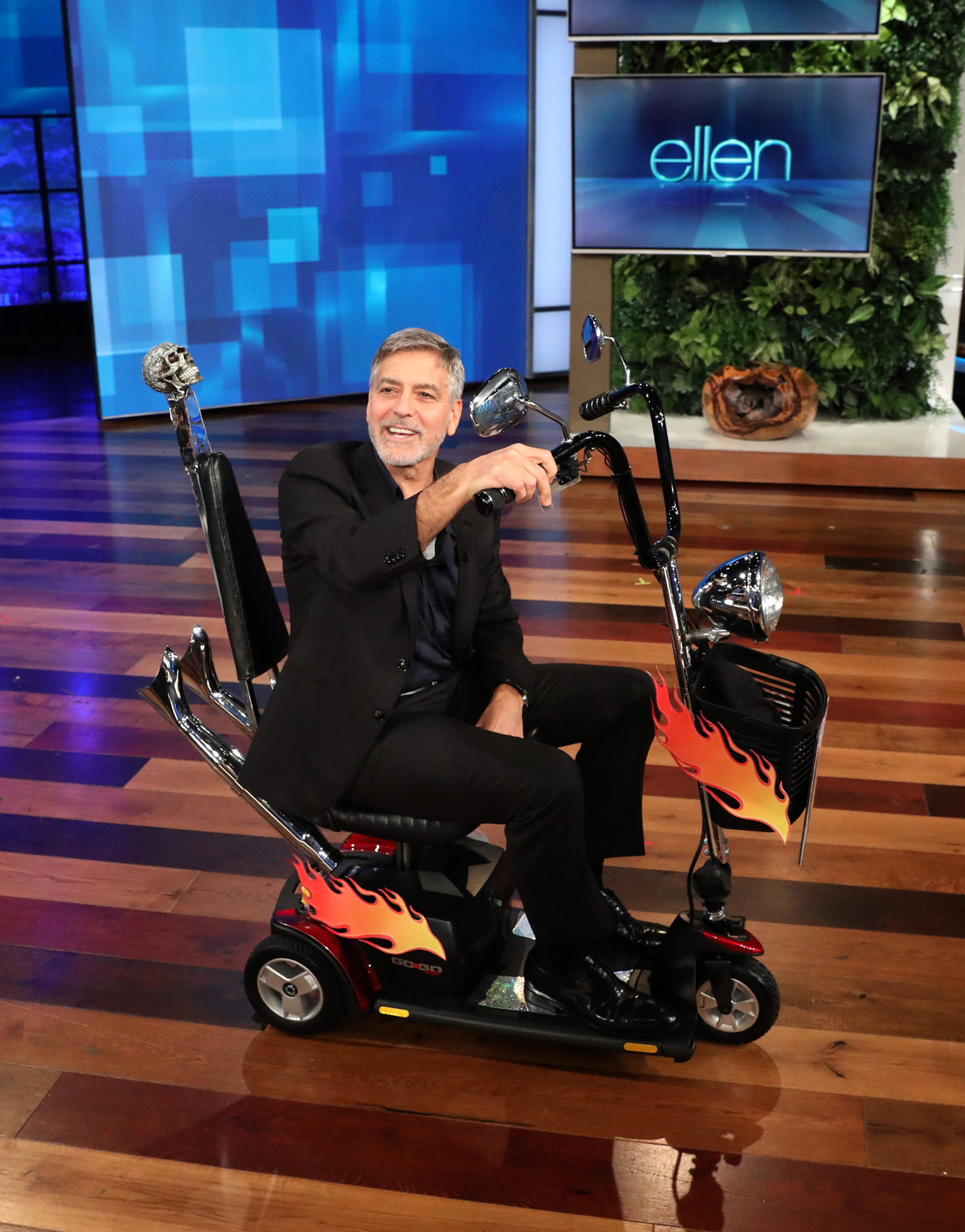 "George Clooney makes an appearance on ""The Ellen DeGeneres Show"""