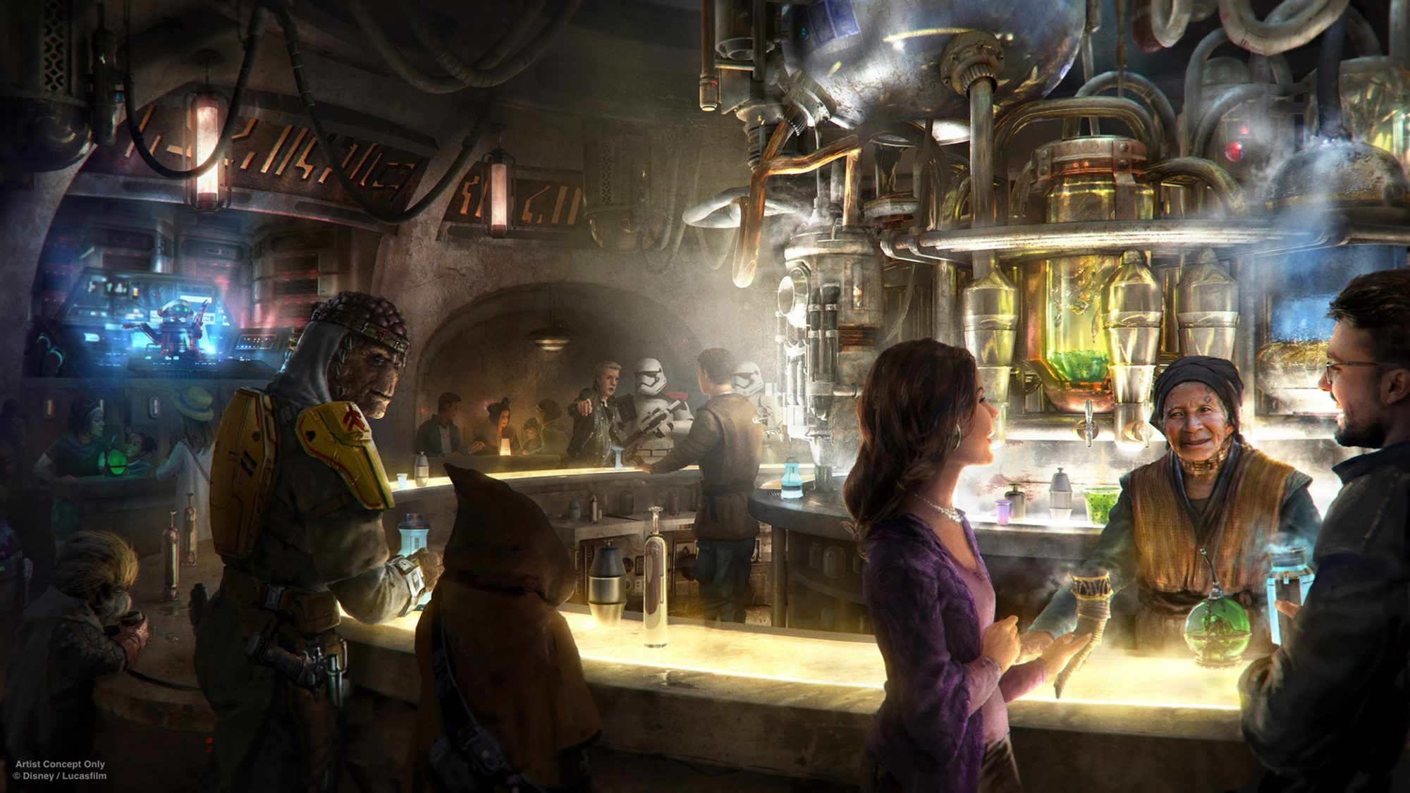 Star Wars: Galaxy's Edge – Oga's Cantina