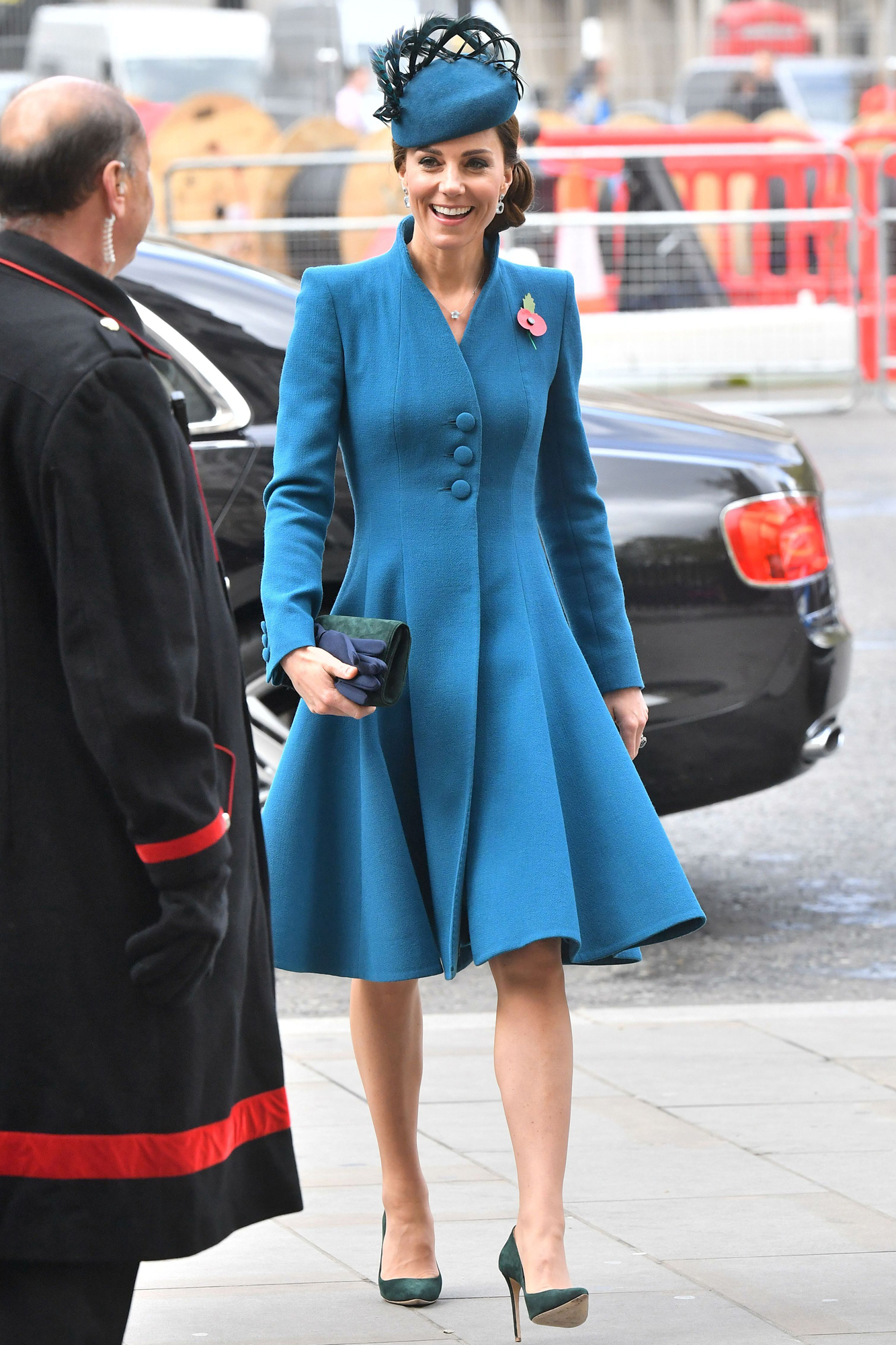 Duchess of Cambridge Anzac Day Service