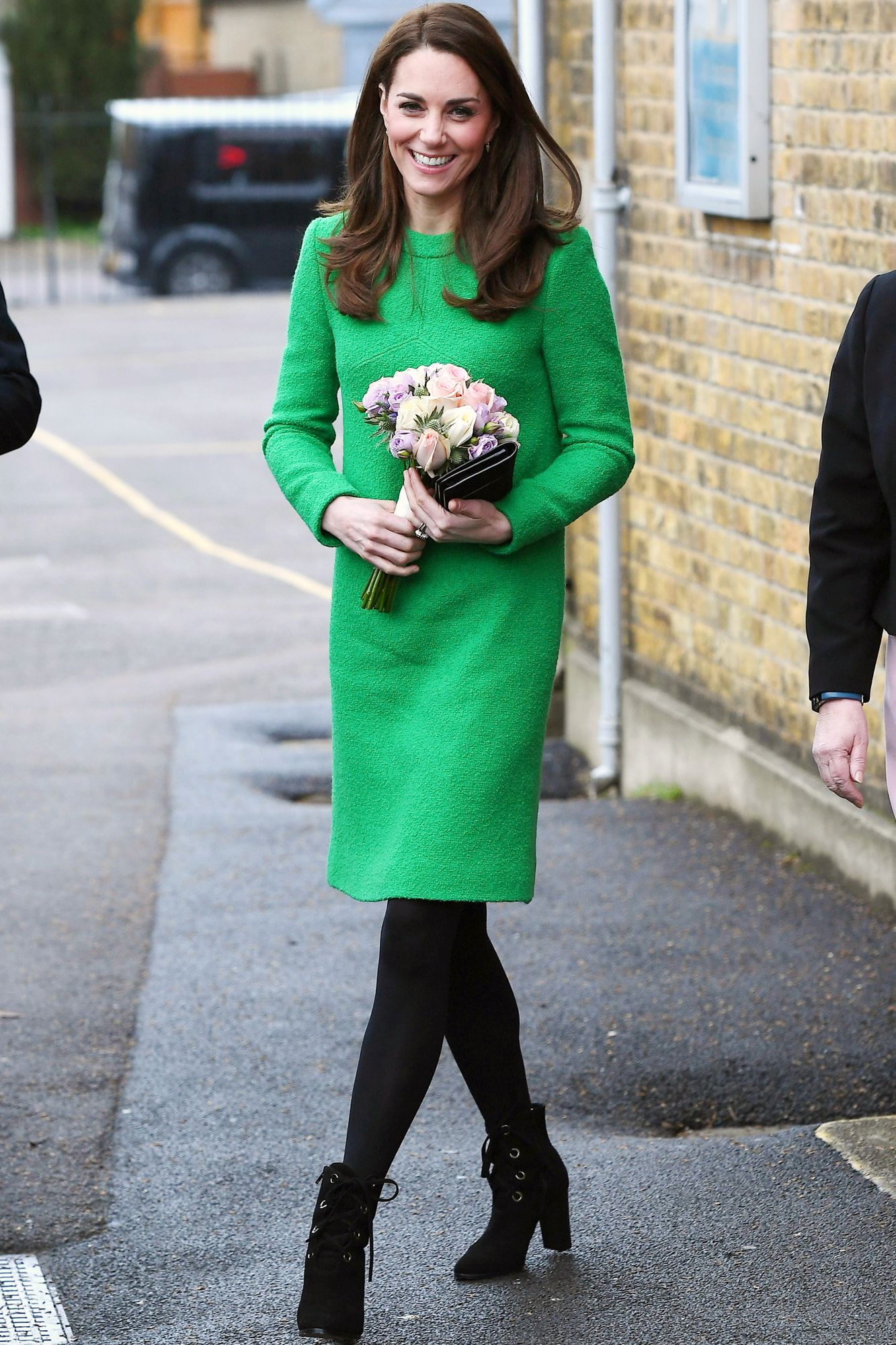 Catherine Duchess of Cambridge visits schools in support of Children's Mental Health, London, UK - 05 Feb 2019