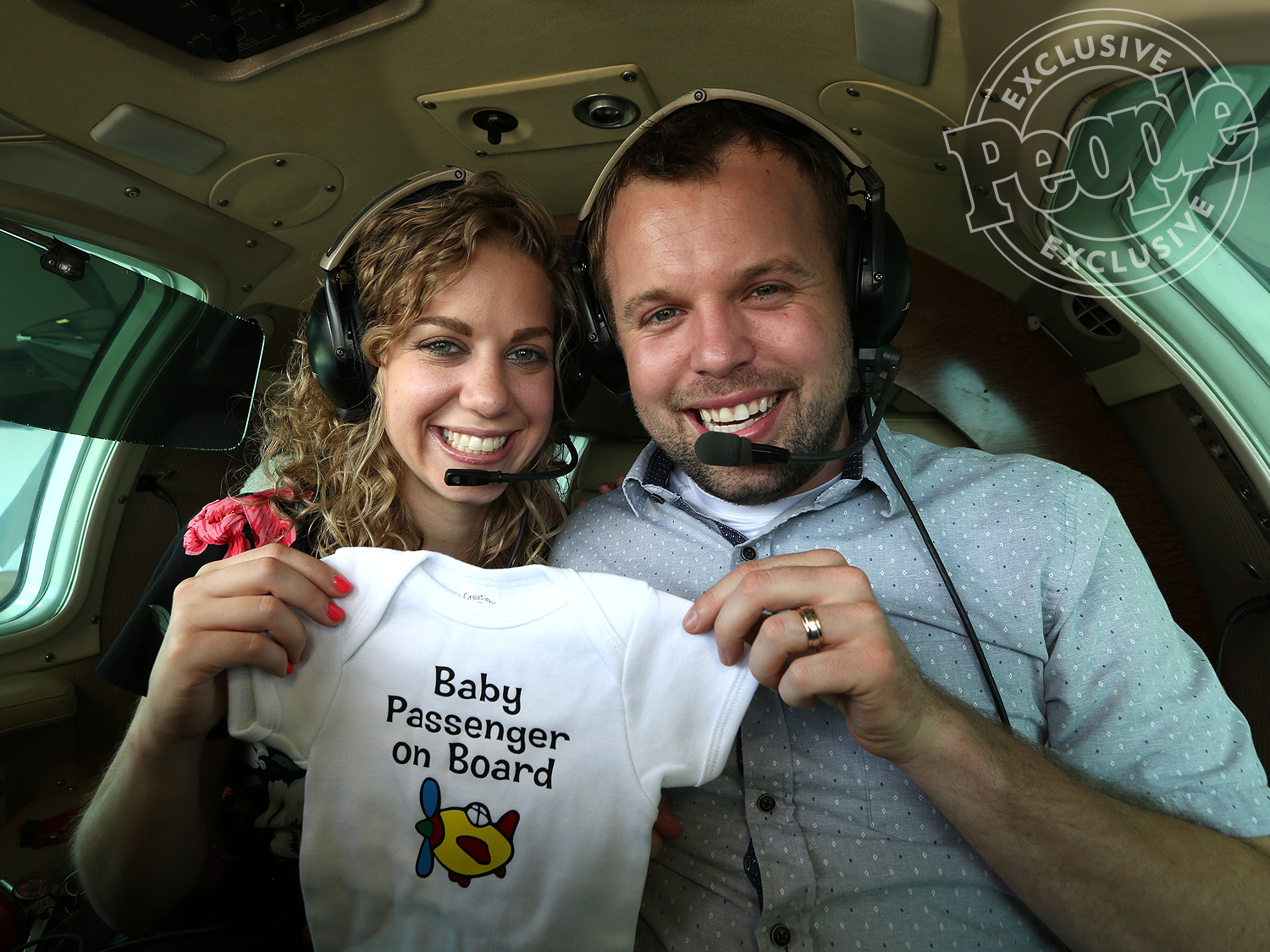 John Duggar and his wife Abby pregnancy announcement