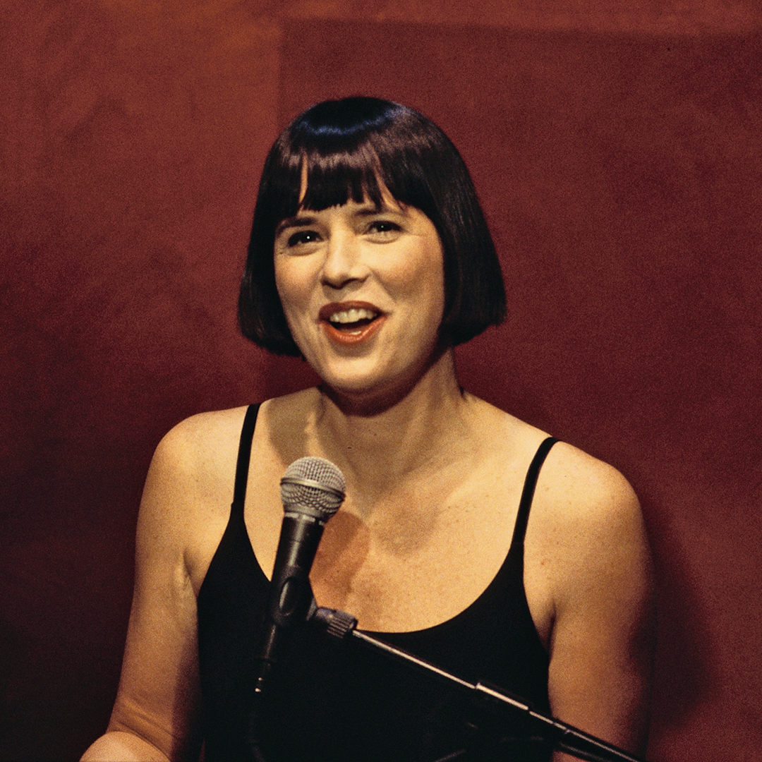 Eve Ensler in The Vagina Monologues
