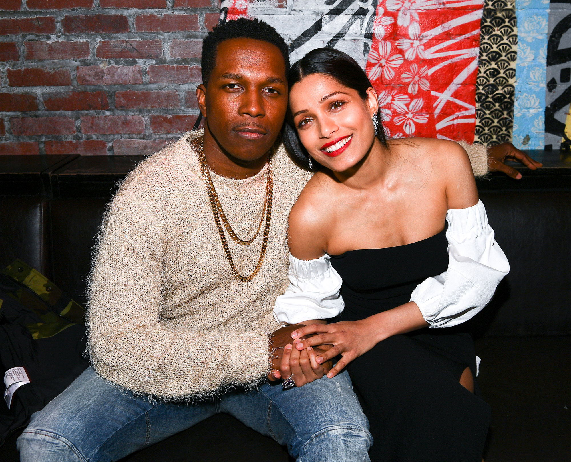 Leslie Odom Jr. and Freida Pinto