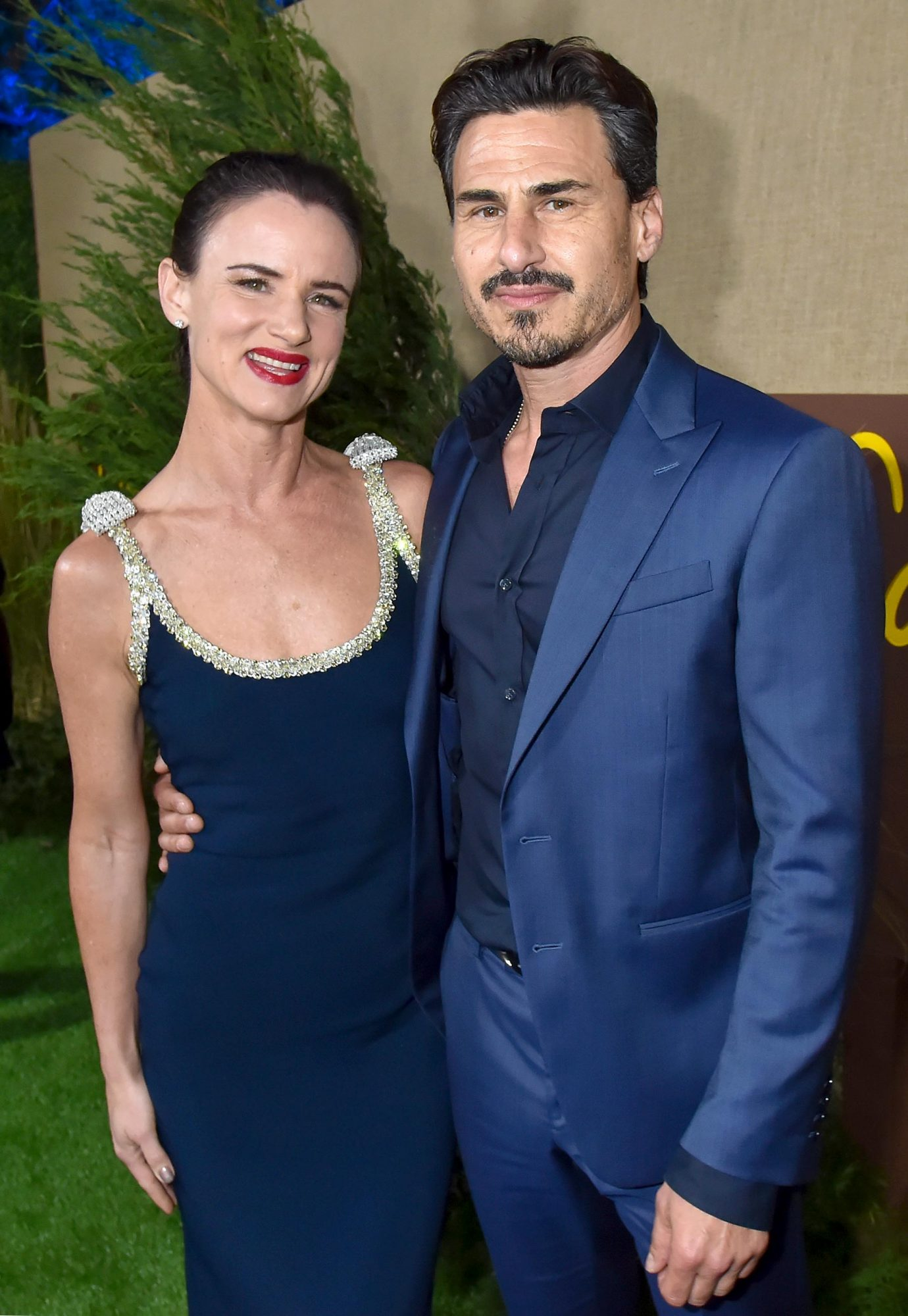 HOLLYWOOD, CA - OCTOBER 10: Juliette Lewis and Brad Wilk attend HBO's Los Angeles premiere of Camping at Paramount Studios on October 10, 2018 in Hollywood, California. (Photo by Jeff Kravitz/FilmMagic for HBO)