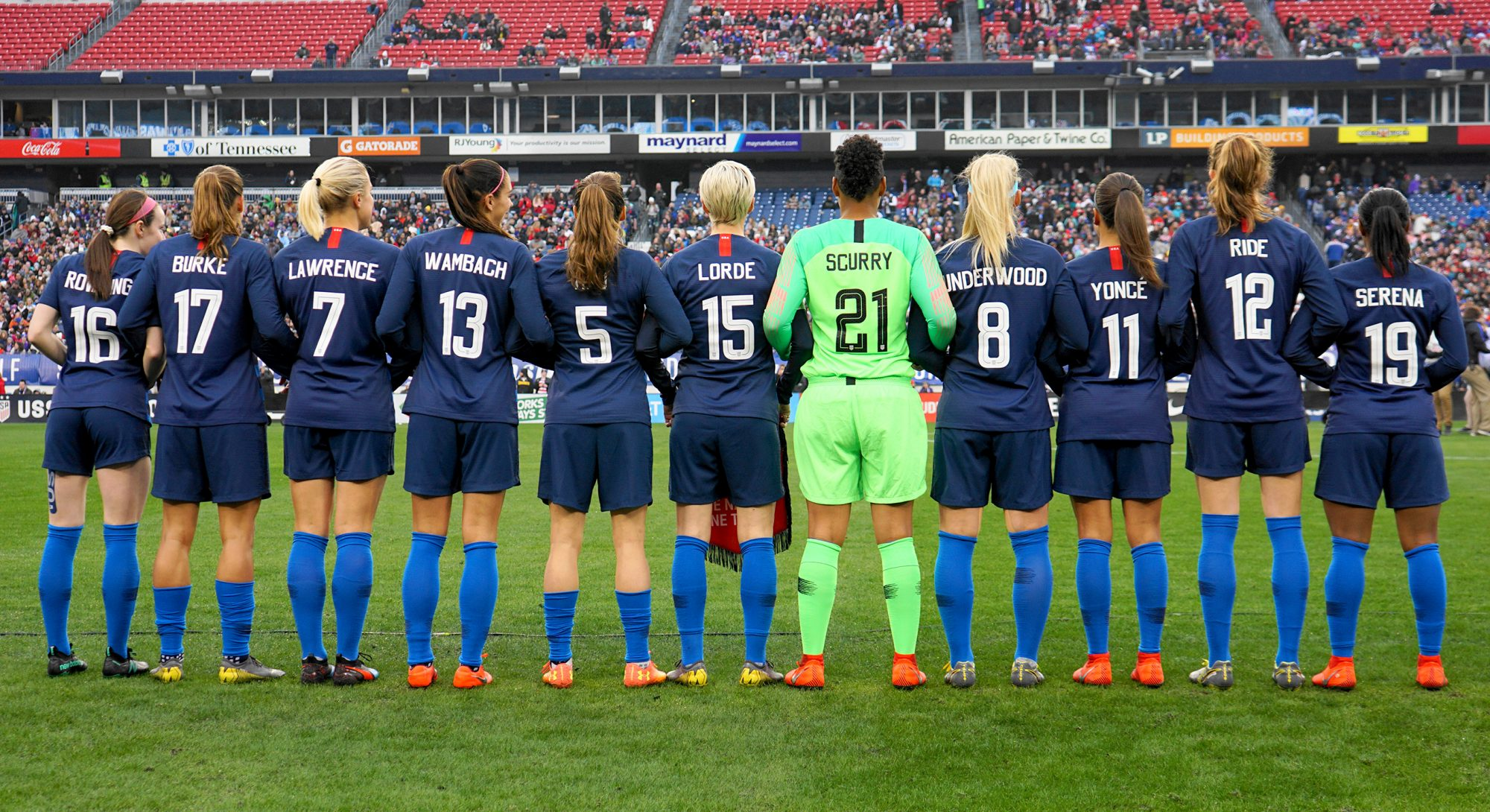 USA Women's Soccer Team - - 2019 SheBelieves Cup - United States v England