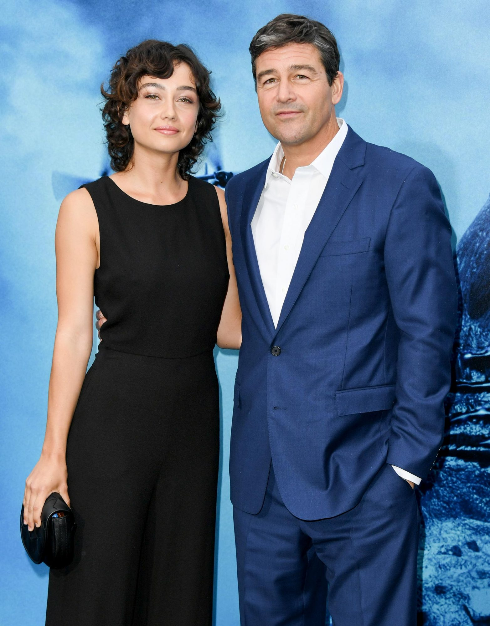 """HOLLYWOOD, CALIFORNIA - MAY 18: Kyle Chandler and daughter Sydney Chandler attend the Premiere Of Warner Bros. Pictures And Legendary Pictures' """"Godzilla: King Of The Monsters"""" at TCL Chinese Theatre on May 18, 2019 in Hollywood, California. (Photo by Jon Kopaloff/FilmMagic)"""