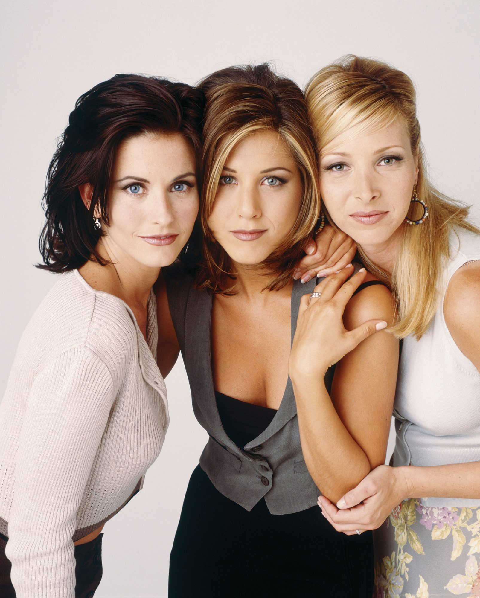 Lisa Kudrow, Jennifer Aniston and Courteney Cox
