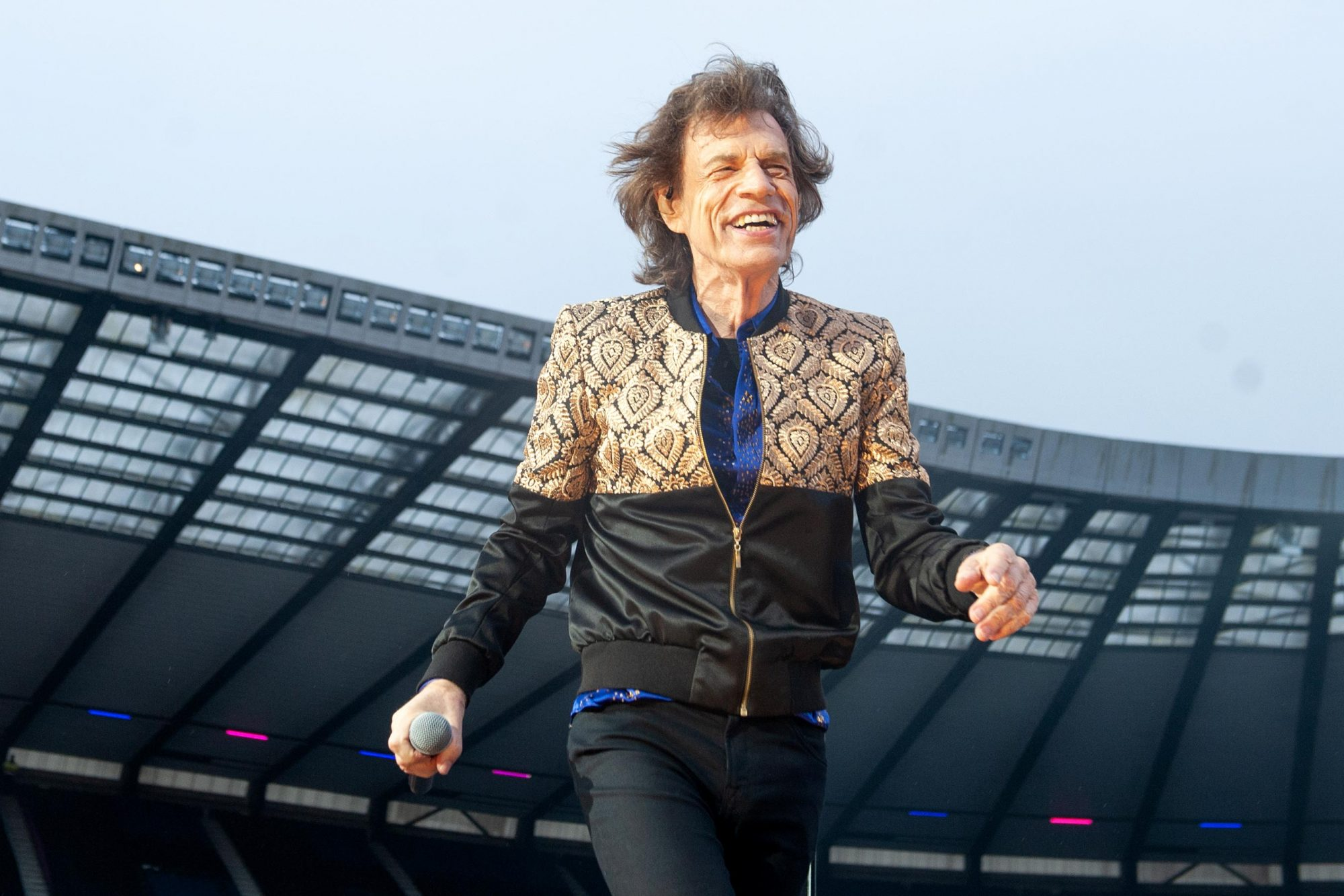 The Rolling Stones Perform At The BT Murrayfield Stadium