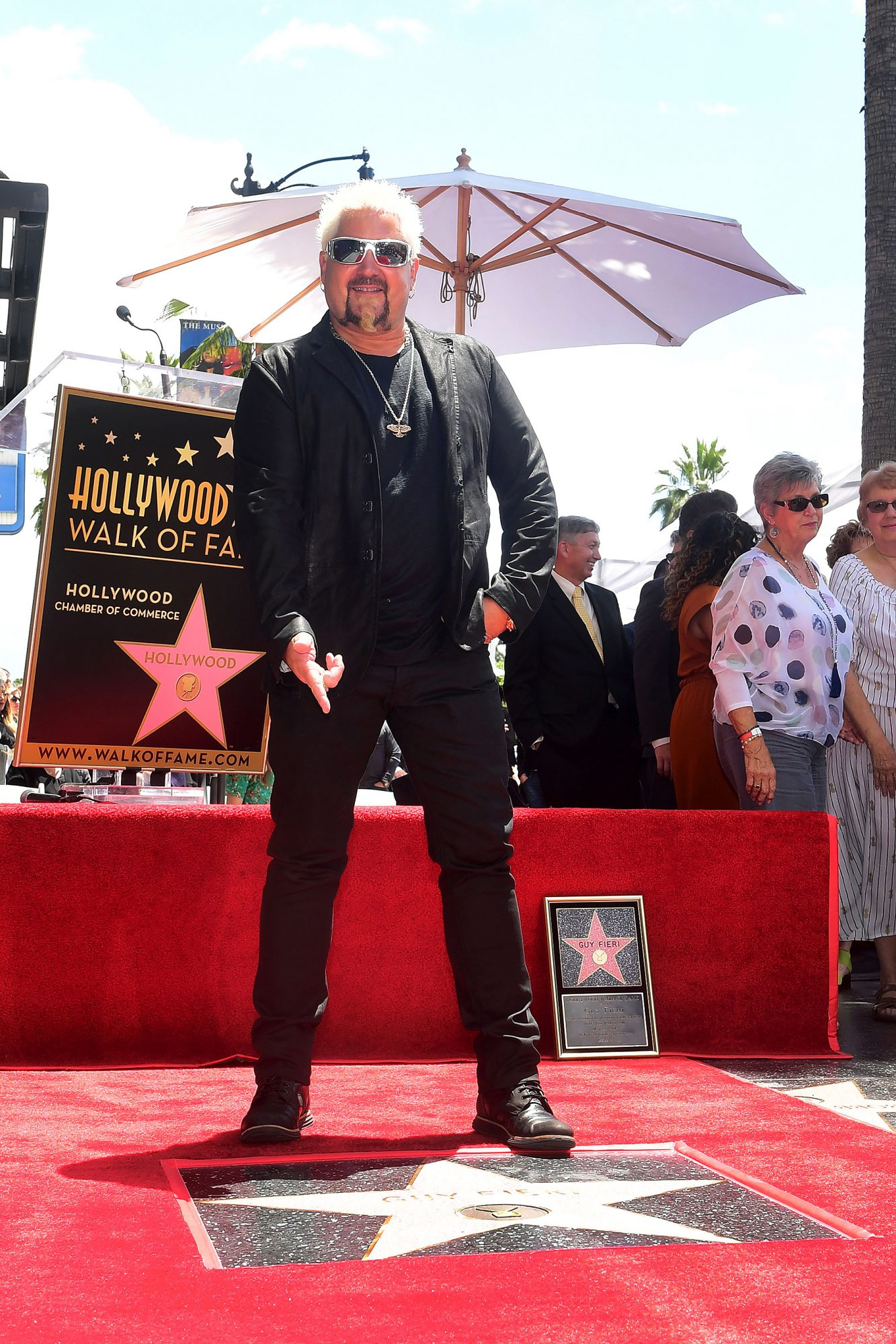 Guy Fieri walk of fame