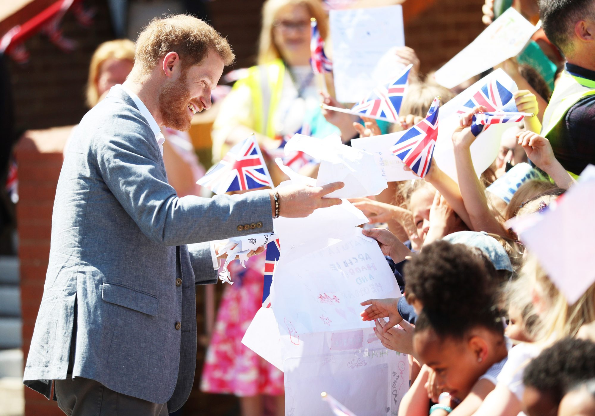 Prince Harry, Duke of Sussex, in Oxford