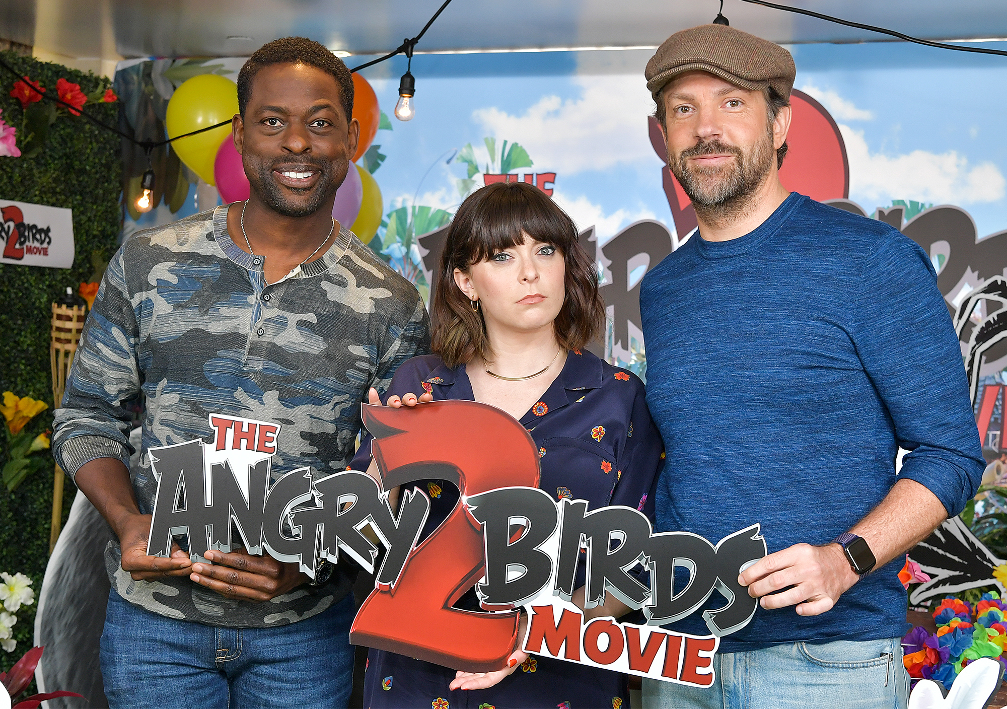 Sterling K. Brown, Rachel Bloom and Jason Sudeikis
