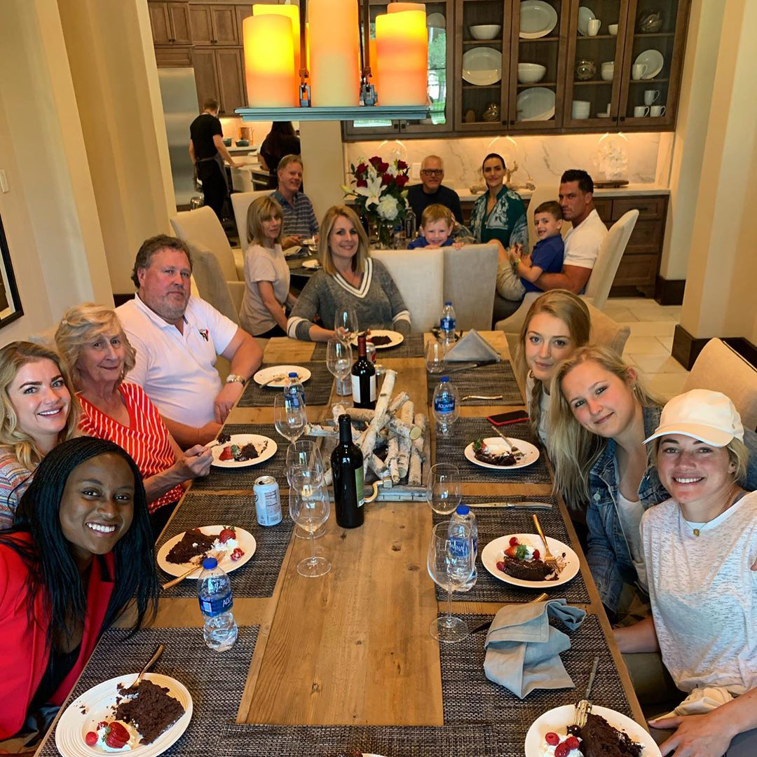 JJ Watt Surprises Fiancée Keala Ohai By Flying in Her Family and Friends to Celebrate Engagement
