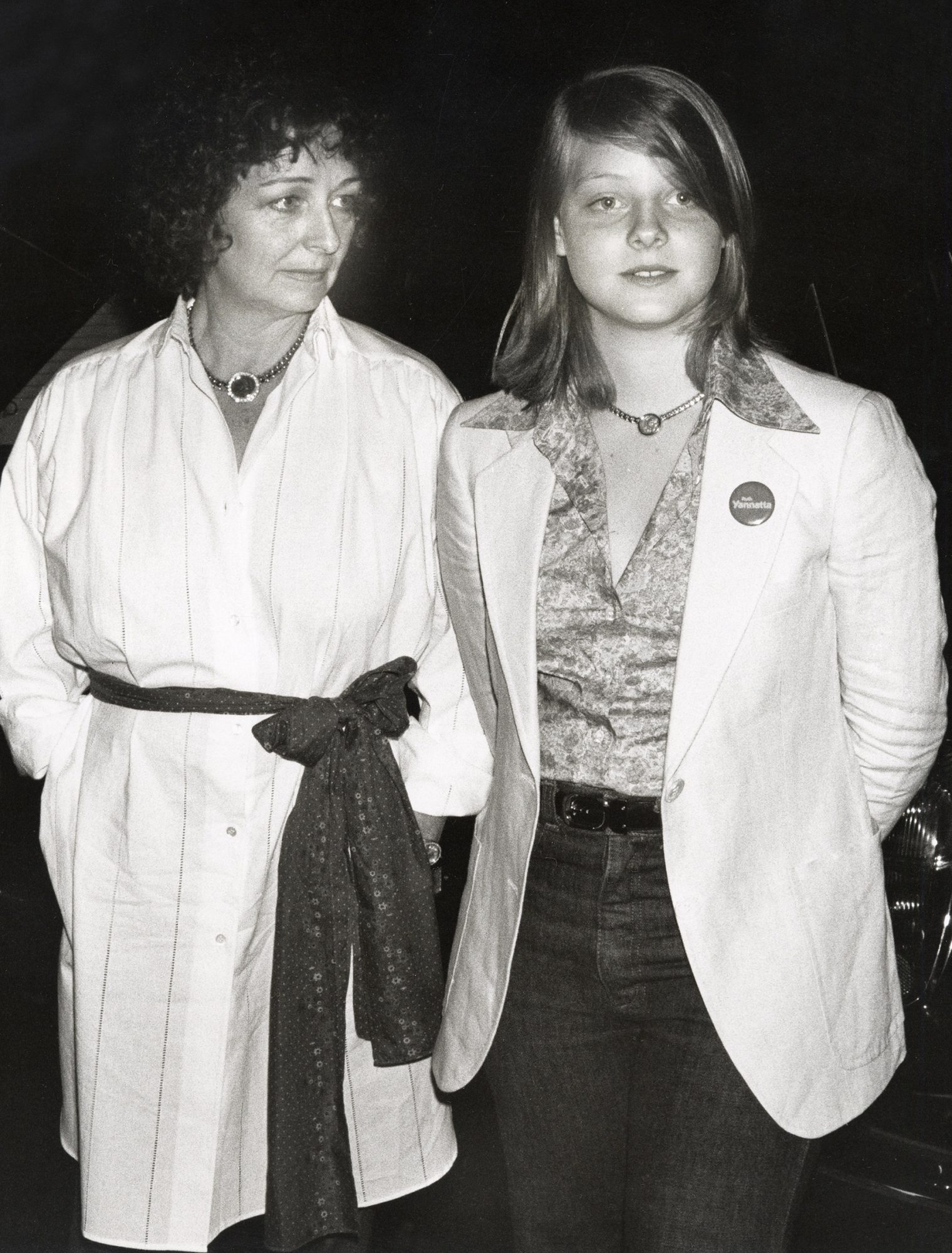 Evelyn Foster and Jodie Foster
