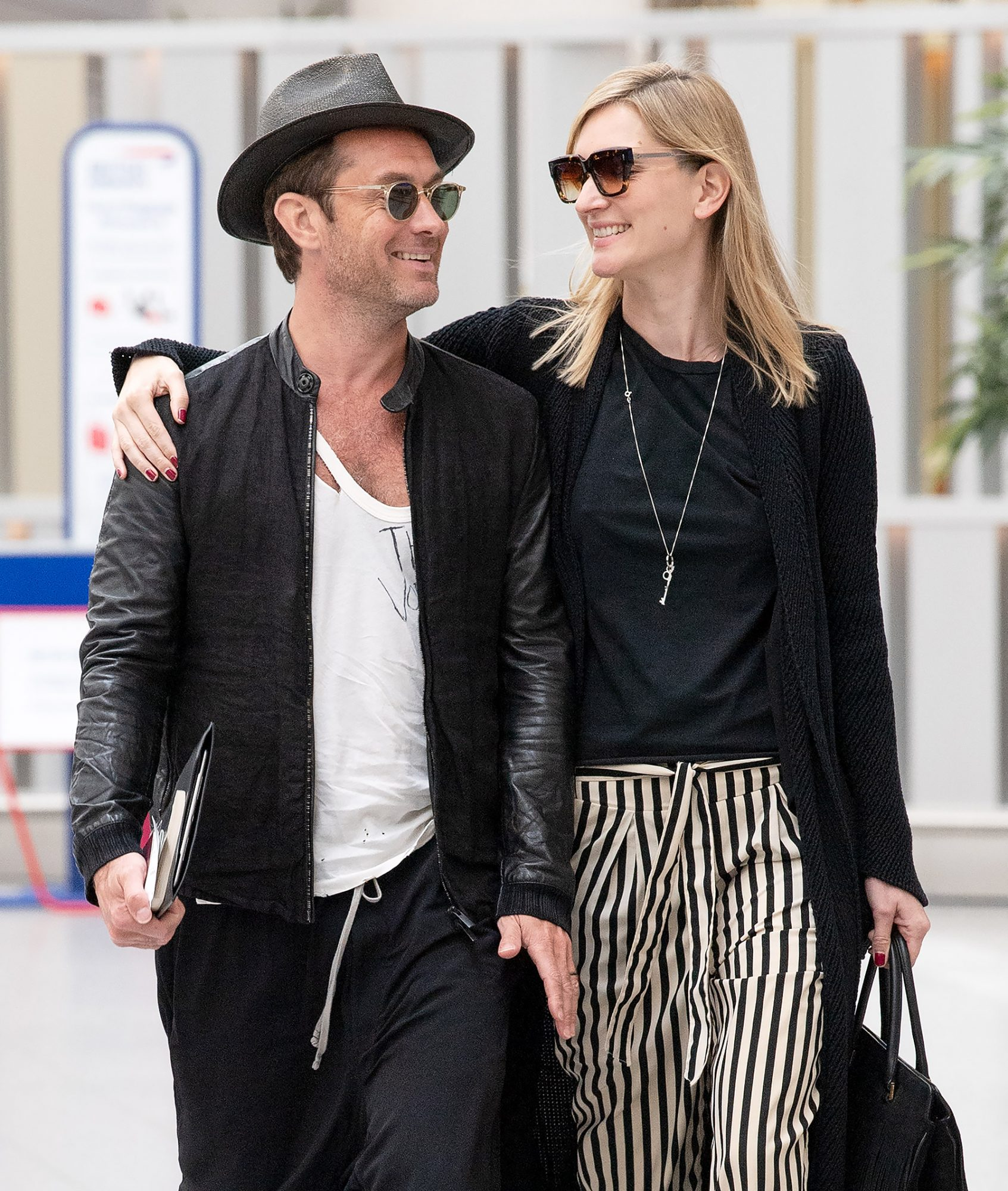 Jude Law and wife Phillipa Coan