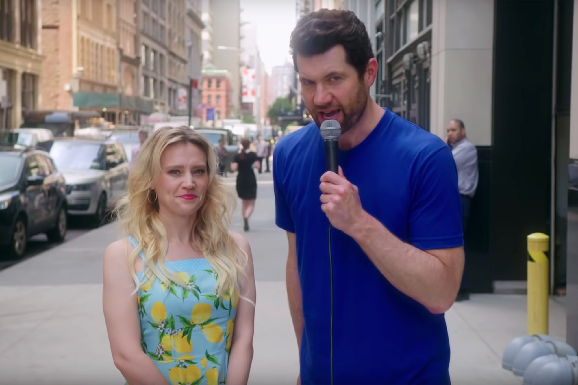 Kate McKinnon and Bill Eichner