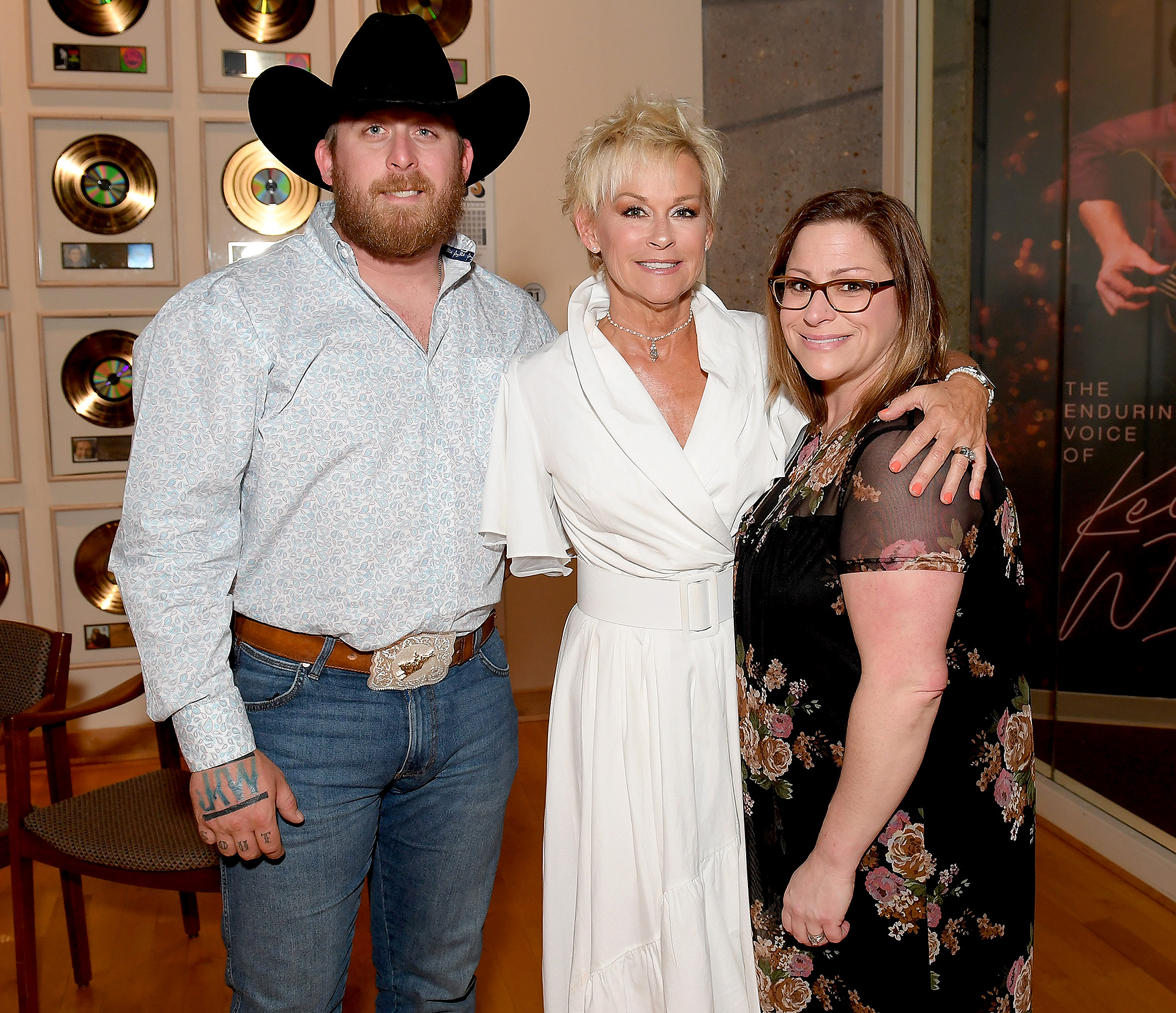 Jesse Keith Whitley, Lorrie Morgan and Morgan Whitley