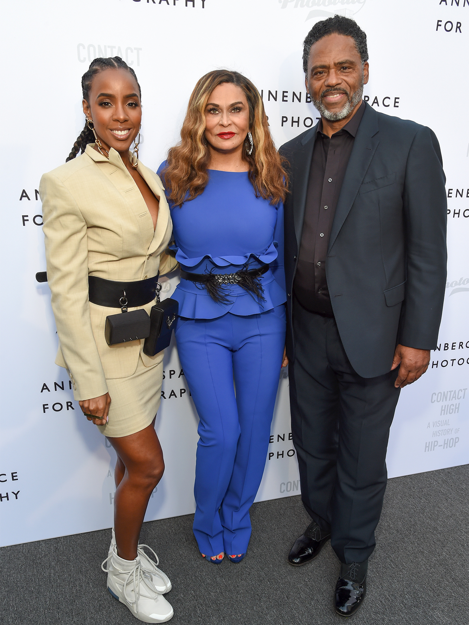 Kelly Rowland, Tina Knowles Lawson and Richard Lawson
