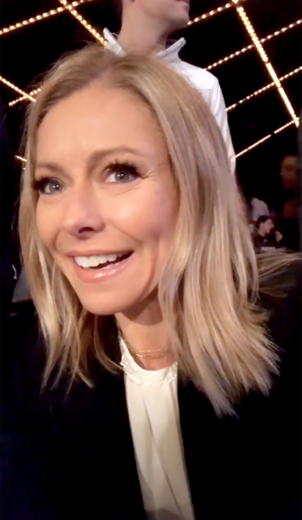 Kelly Ripa goes to a wrestling match instead of the Met Gala