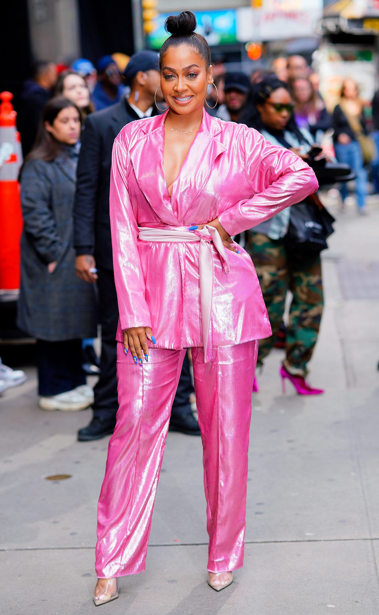 Celebrity Sightings In New York City - May 09, 2019