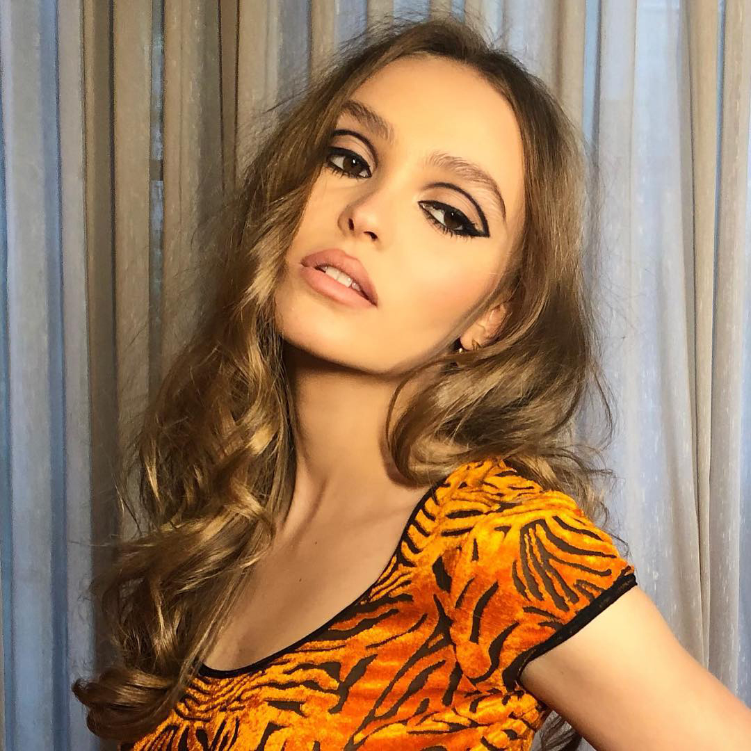 Lily-Rose Depp turns 20