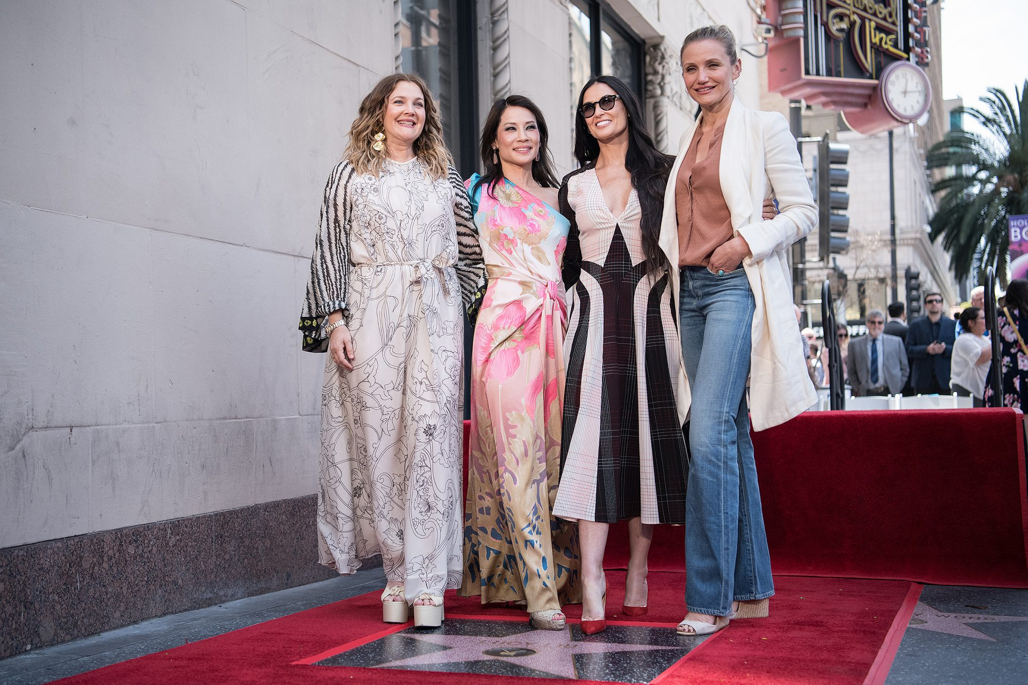 Lucy Liu's Hollywood Walk of Fame star ceremony