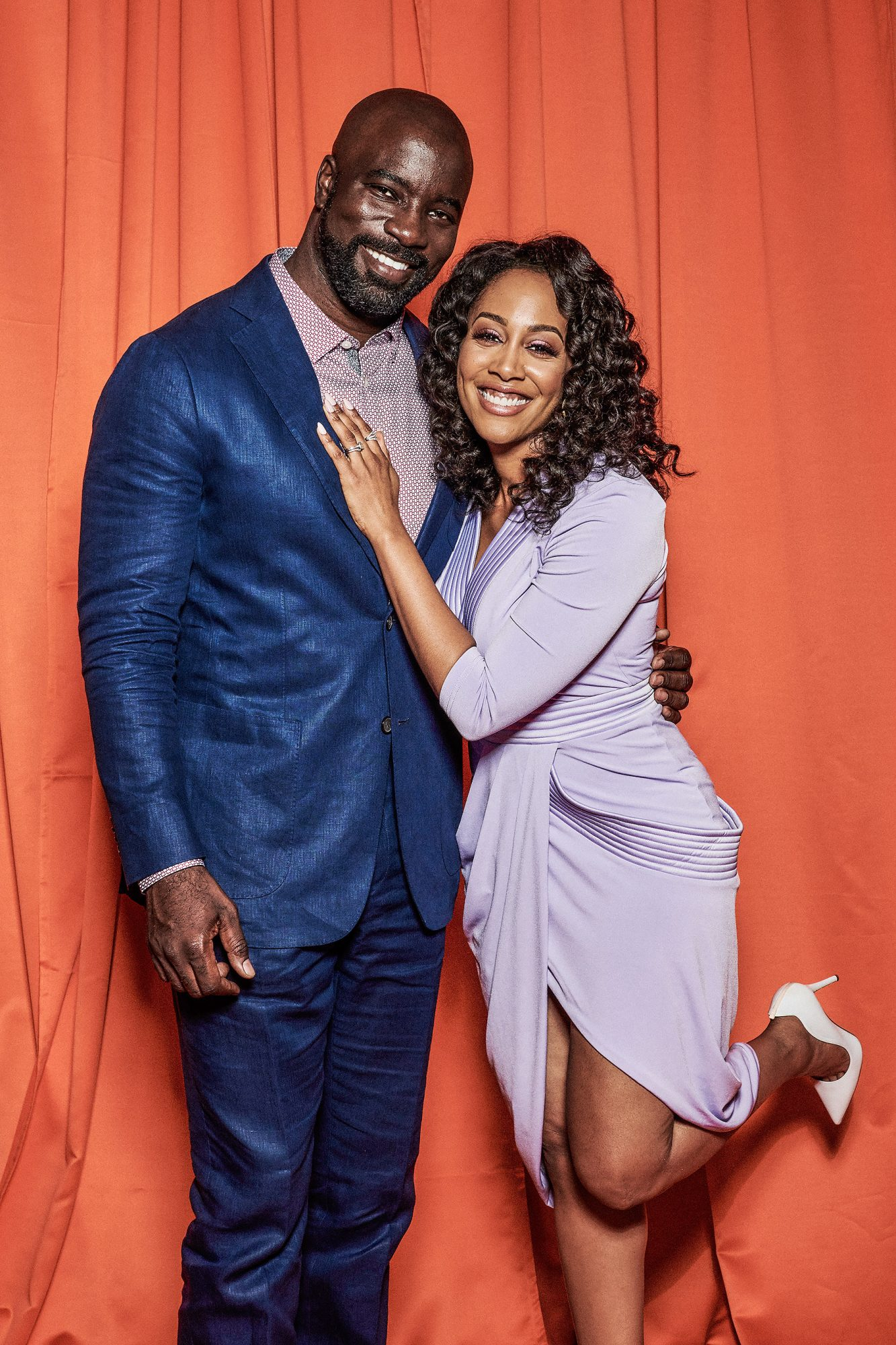 Mike Colter and Simone Missick