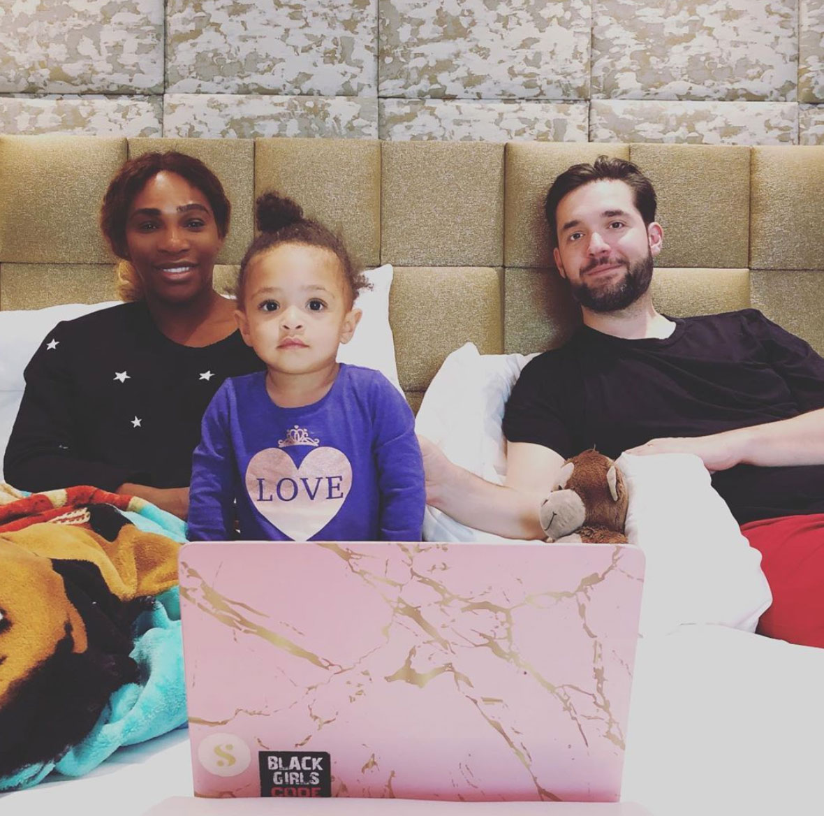 Serena Williams -- Mother's Day