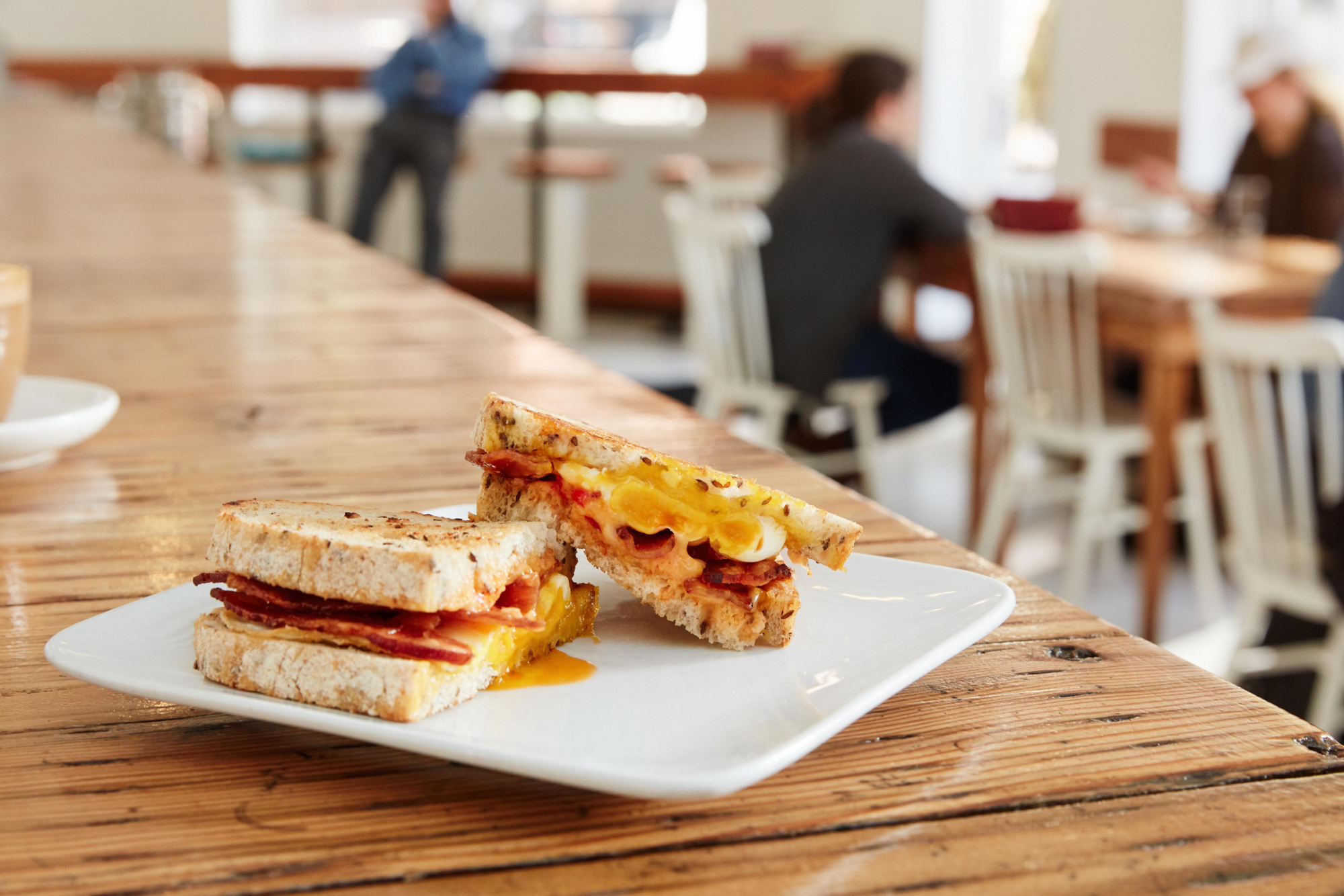 Pimento Cheese Breakfast Sandwich from Cheapside Cafe in Ohio