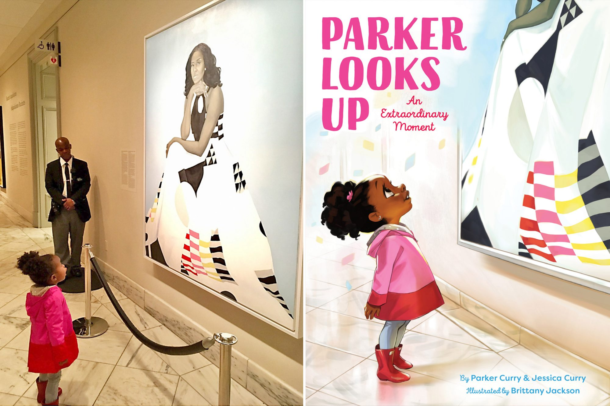 Parker Looks Up An Extraordinary Moment By Parker Curry and Jessica Curry