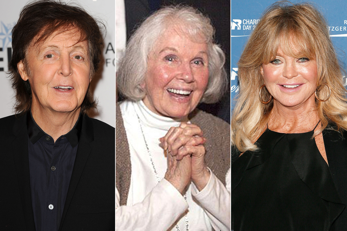 PAUL MCCARTNEY, DORIS DAY AND GOLDIE HAWN
