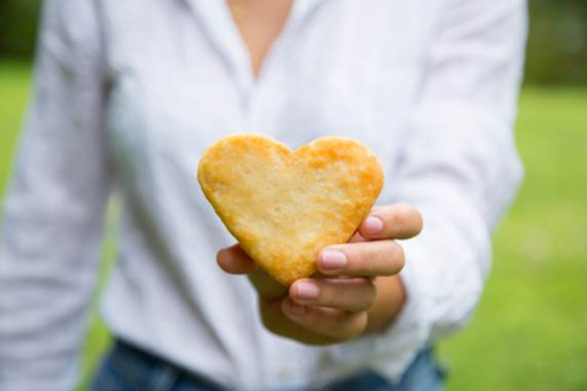 National Biscuit Day - heart shaped biscuits